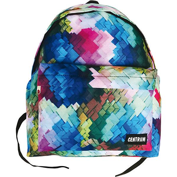 Рюкзак школьный  молодежныйРюкзаки для подростков<br>Характеристики:<br><br>• размер: 41х14х29,5 см.;<br>• состав: полиэстер;<br>• вес: 271 г.;<br>• для детей в возрасте: от 10 лет;<br>• страна производитель: Китай.<br><br>Этот вместительный рюкзак, выполненный в стильном дизайне от бренда CENTRIUM (Центриум) отлично подойдёт для школы и внеклассных занятий. Рюкзак оснащён обширным отделением на молнии, в которое помещаются книги и тетради формата А4. Спереди расположен карман для мелочей и канцелярских принадлежностей.<br><br>Уплотнённая спинка пропускает воздух и приятна в использовании. Широкие и регулируемые лямки способствуют правильному распределению нагрузки на спину. С помощью качественно прошитой ручки рюкзак можно носить в руке или вешать на крючок. Благодаря своему каркасу, рюкзак сохраняет свою форму и в нём легче найти нужный предмет или книгу.<br><br>Рюкзак спортивный молодёжный можно купить в нашем интернет-магазине<br><br>Ширина мм: 140<br>Глубина мм: 295<br>Высота мм: 410<br>Вес г: 270<br>Возраст от месяцев: 72<br>Возраст до месяцев: 2147483647<br>Пол: Женский<br>Возраст: Детский<br>SKU: 6842169