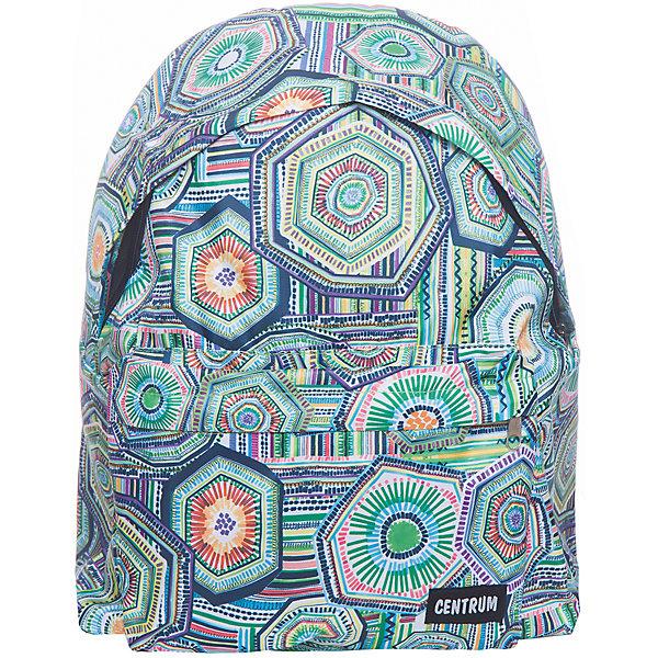 Рюкзак школьный молодежныйРюкзаки<br>Характеристики:<br><br>• размер: 41х14х29,5 см.;<br>• состав: полиэстер;<br>• вес: 271 г.;<br>• для детей в возрасте: от 10 лет;<br>• страна производитель: Китай.<br><br>Этот вместительный рюкзак, выполненный в стильном дизайне от бренда CENTRIUM (Центриум) отлично подойдёт для школы и внеклассных занятий. Рюкзак оснащён обширным отделением на молнии, в которое помещаются книги и тетради формата А4. Спереди расположен карман для мелочей и канцелярских принадлежностей.<br><br>Уплотнённая спинка пропускает воздух и приятна в использовании. Широкие и регулируемые лямки способствуют правильному распределению нагрузки на спину. С помощью качественно прошитой ручки рюкзак можно носить в руке или вешать на крючок. Благодаря своему каркасу, рюкзак сохраняет свою форму и в нём легче найти нужный предмет или книгу.<br><br>Рюкзак спортивный молодёжный можно купить в нашем интернет-магазине.<br><br>Ширина мм: 140<br>Глубина мм: 295<br>Высота мм: 410<br>Вес г: 270<br>Возраст от месяцев: 72<br>Возраст до месяцев: 2147483647<br>Пол: Женский<br>Возраст: Детский<br>SKU: 6842170
