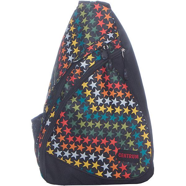 Рюкзак школьный молодежный на одной лямкеРюкзаки для подростков<br>Характеристики:<br><br>• размер: 42х12,5х24 см.;<br>• состав: полиэстер;<br>• вес: 266 г.;<br>• для детей в возрасте: от 10 лет;<br>• страна производитель: Китай.<br><br>Этот вместительный рюкзак, выполненный в стильном дизайне от бренда CENTRIUM (Центриум) отлично подойдёт для школы и внеклассных занятий. Рюкзак оснащён обширным отделением на молнии, в которое помещаются книги и тетради формата А4. Спереди расположен карман для тетрадей и канцелярских принадлежностей. По бокам расположены сетчатые карманы для мелочей.<br><br>Уплотнённая спинка пропускает воздух и приятна в использовании. Широкая и регулируемая лямка способствуют правильному распределению нагрузки на спину. С помощью качественно прошитой ручки рюкзак можно носить в руке или вешать на крючок. Благодаря своему каркасу, рюкзак сохраняет свою форму и в нём легче найти нужный предмет или книгу.<br><br>Рюкзак спортивный молодёжный на одной лямке можно купить в нашем интернет-магазине.<br><br>Ширина мм: 420<br>Глубина мм: 240<br>Высота мм: 125<br>Вес г: 266<br>Возраст от месяцев: 72<br>Возраст до месяцев: 2147483647<br>Пол: Женский<br>Возраст: Детский<br>SKU: 6842177