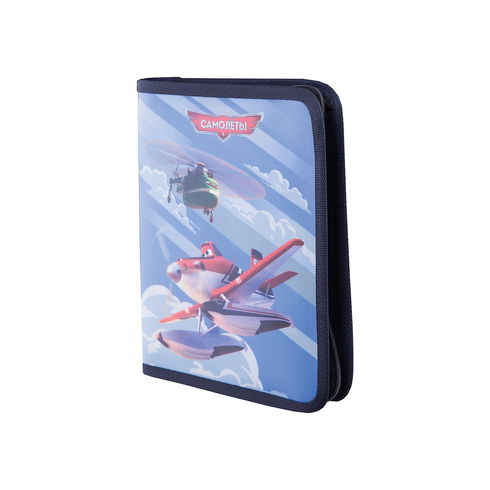 Папка для тетрадей на молнии B5 Flying PlansПапки для тетрадей<br>Характеристики товара:<br><br>• герой: Flying Plans;<br>• материал: полиэстер;<br>• размер упаковки: 20.3x25x3.5 см;<br>• формат: В5;<br>• страна изготовитель: Россия<br><br>Папка для тетрадей — незаменимая вещь для каждого школьника. С ней все тетради будут на месте и не потеряются. <br><br>Плотный материал, из которого она изготовлена, не даст бумажной канцелярии помяться. <br><br>Папку для тетрадей  B5 Flying Plans можно купить в нашем интернет-магазине.<br><br>Ширина мм: 250<br>Глубина мм: 176<br>Высота мм: 20<br>Вес г: 92<br>Возраст от месяцев: 72<br>Возраст до месяцев: 96<br>Пол: Мужской<br>Возраст: Детский<br>SKU: 6842700
