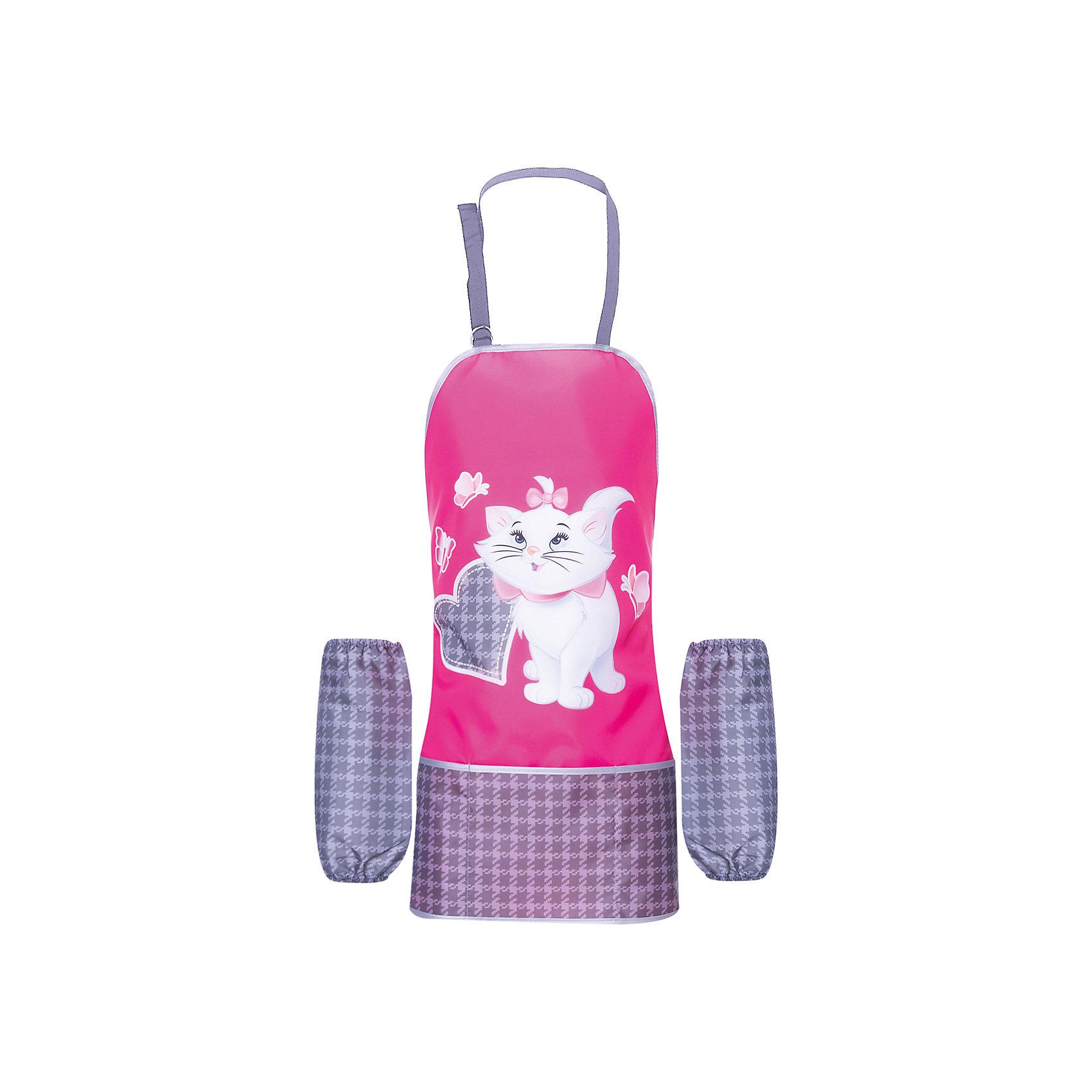 Фартук Cat Marie с нарукавникамиРисование и лепка<br>Характеристики товара:<br><br>• принт: Cat Marie<br>• материал: полиэстер<br>• страна изготовитель: Китай<br>• страна бренда: Германия<br><br>Фартук Cat Marie с нарукавниками бренда Erich Krause защитит одежду от краски, пластилина и прочих материалов для творчества.<br><br>Фартук Cat Marie можно купить в нашем интернет-магазине.<br><br>Ширина мм: 9999<br>Глубина мм: 9999<br>Высота мм: 9999<br>Вес г: 79<br>Возраст от месяцев: 72<br>Возраст до месяцев: 96<br>Пол: Женский<br>Возраст: Детский<br>SKU: 6842705