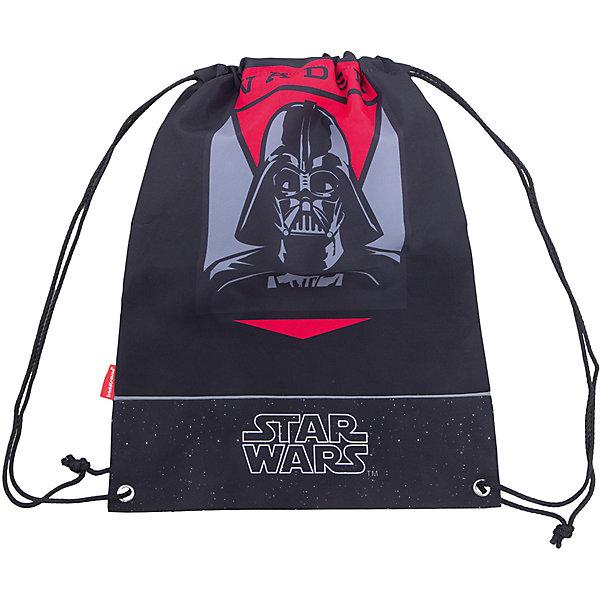 Сумка для сменной обуви Star WarsМешки для обуви<br>Характеристики товара:<br><br>• серия: Star Wars<br>• материал: полиэстер<br>• размер: 44х35х2 см<br>• страна изготовитель: Китай<br>• страна бренда: Германия<br><br>Мешок для обуви ErichKrause позволяет школьнику носить с собой сменную обувь – в школу или на секции. Мешок для обуви оснащен шнурком для стягивания. <br><br>Erich Krause Сумка для сменной обуви Star Wars можно купить в нашем интернет-магазине.<br>Ширина мм: 440; Глубина мм: 350; Высота мм: 10; Вес г: 90; Возраст от месяцев: 72; Возраст до месяцев: 96; Пол: Мужской; Возраст: Детский; SKU: 6842715;