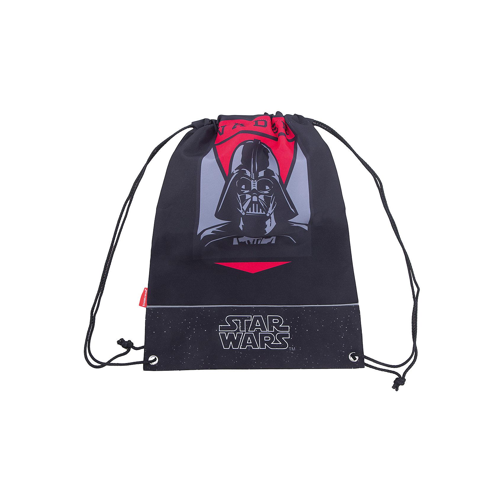 Сумка для сменной обуви Star WarsМешки для обуви<br>Характеристики товара:<br><br>• серия: Star Wars<br>• материал: полиэстер<br>• размер: 44х35х2 см<br>• страна изготовитель: Китай<br>• страна бренда: Германия<br><br>Мешок для обуви ErichKrause позволяет школьнику носить с собой сменную обувь – в школу или на секции. Мешок для обуви оснащен шнурком для стягивания. <br><br>Erich Krause Сумка для сменной обуви Star Wars можно купить в нашем интернет-магазине.<br><br>Ширина мм: 440<br>Глубина мм: 350<br>Высота мм: 10<br>Вес г: 90<br>Возраст от месяцев: 72<br>Возраст до месяцев: 96<br>Пол: Мужской<br>Возраст: Детский<br>SKU: 6842715
