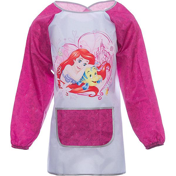 Фартук-накидка Принцессы Disney Большая мечтаРисование и лепка<br>Характеристики товара:<br><br>• принт: Принцессы Disney Большая мечта<br>• материал: полиэстер<br>• страна изготовитель: Китай<br>• страна бренда: Германия<br><br>Фартук-накидка Принцессы Disney Большая мечта бренда Erich Krause защитит одежду от краски, пластилина и прочих материалов для творчества.<br><br>Фартук-накидка Принцессы Disney Большая мечта можно купить в нашем интернет-магазине.<br><br>Ширина мм: 9999<br>Глубина мм: 9999<br>Высота мм: 9999<br>Вес г: 90<br>Возраст от месяцев: 72<br>Возраст до месяцев: 96<br>Пол: Женский<br>Возраст: Детский<br>SKU: 6842730