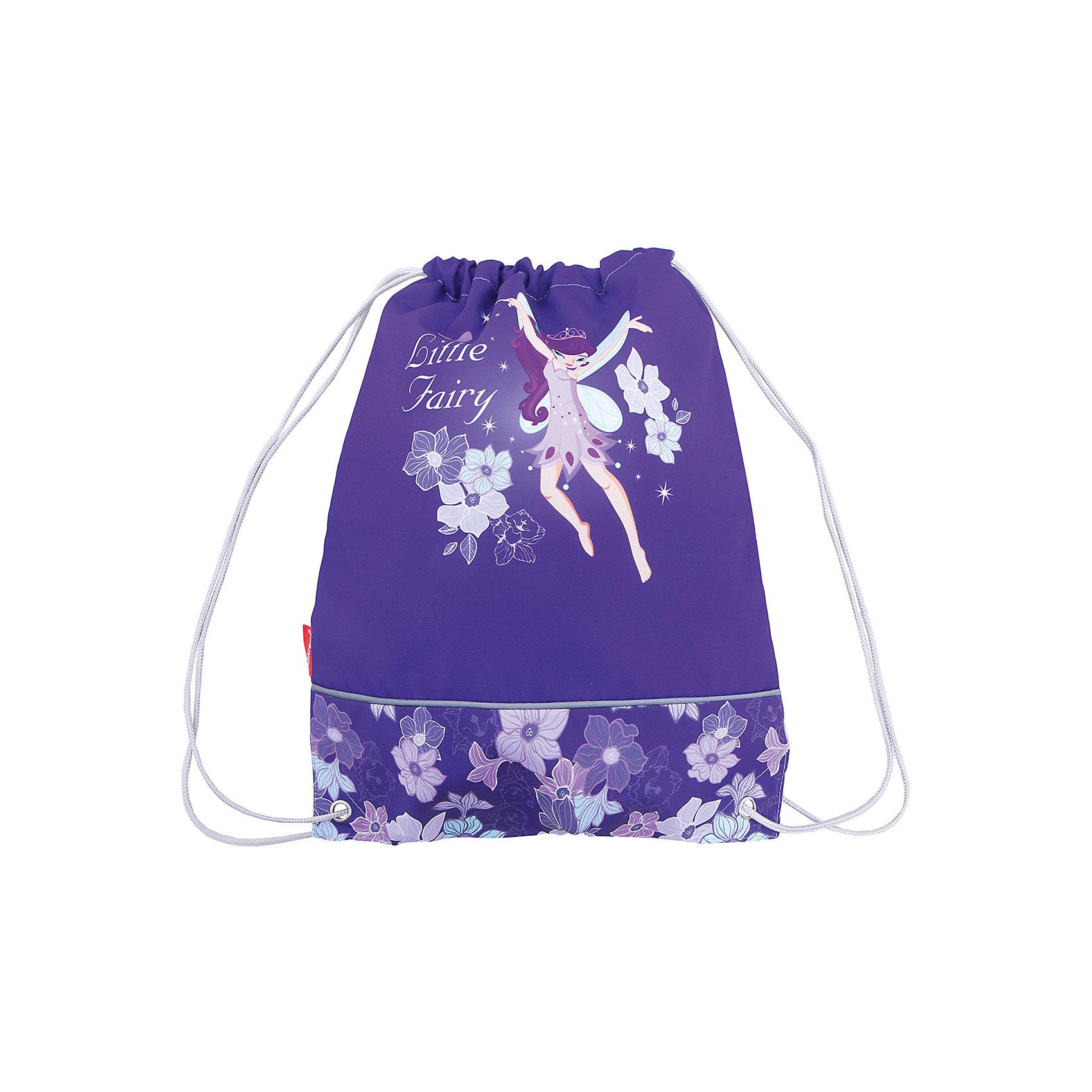 Erich Krause Сумка для сменной обуви Flower FairyМешки для обуви<br>Характеристики товара:<br><br>• серия: Flower Fairy<br>• материал: полиэстер<br>• размер: 44х35х2 см<br>• страна изготовитель: Китай<br>• страна бренда: Германия<br><br>Мешок для обуви ErichKrause позволяет школьнику носить с собой сменную обувь – в школу или на секции. Мешок для обуви оснащен шнурком для стягивания. <br><br>Erich Krause Сумка для сменной обуви Flower Fairy можно купить в нашем интернет-магазине.<br><br>Ширина мм: 440<br>Глубина мм: 350<br>Высота мм: 10<br>Вес г: 90<br>Возраст от месяцев: 72<br>Возраст до месяцев: 96<br>Пол: Женский<br>Возраст: Детский<br>SKU: 6842753