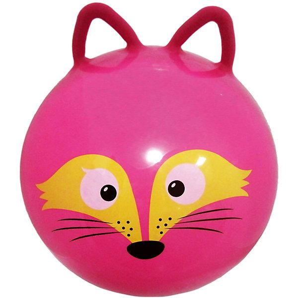 Мяч прыгун Лисенок с ушкам, 45 см, Moby KidsМячи детские<br>Характеристики товара:<br><br>• возраст: от 3 лет;<br>• материал: ПВХ;<br>• диаметр мяча: 45 см;<br>• размер упаковки: 16х14х7 см;<br>• вес упаковки: 390 гр.;<br>• страна производитель: Китай.<br><br>Мяч прыгун «Лисенок с ушками» Moby Kids — отличный тренажер для детей от 3 лет. Он украшен забавной мордочкой лисенка. Сидя на нем и держась за ручки, малыш тренирует координацию движений, тренирует мышцы, формирует осанку. Мяч подойдет для использования как дома, так и на улице.<br><br>Мяч прыгун «Лисенок с ушками» Moby Kids можно приобрести в нашем интернет-магазине.<br>Ширина мм: 140; Глубина мм: 70; Высота мм: 160; Вес г: 390; Возраст от месяцев: 36; Возраст до месяцев: 2147483647; Пол: Унисекс; Возраст: Детский; SKU: 6844292;