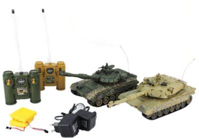 Shantou Gepai Танковый бой Т-90 (Россия) - Abrams M1A2 на радиоуправлении, Shantou