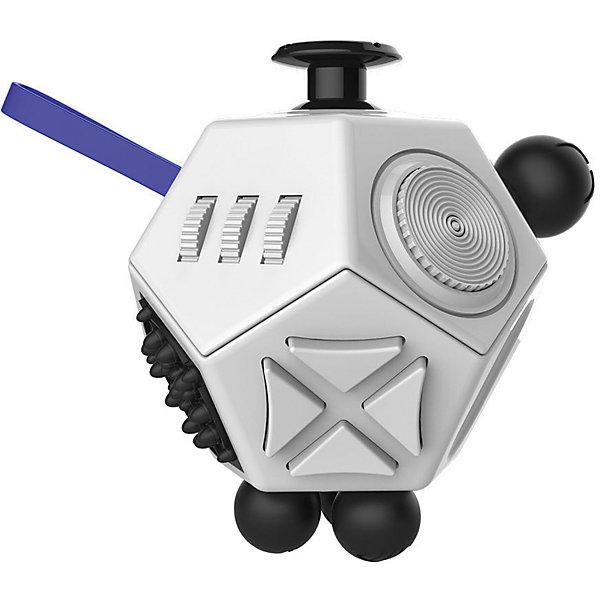 Антистресс Фиджет куб, черно-белый, Fidget cubeИгрушки-антистресс<br>Характеристики товара:<br><br>• возраст: от 3 лет;<br>• материал: пластик;<br>• размер упаковки: 4х4х4 см;<br>• вес упаковки: 120 гр.;<br>• страна производитель: Китай.<br><br>Антистресс Fidget Cube черно-белый — игрушка, которая помогает привести мысли в порядок, сосредоточиться. Подходит тем, кто любит перебирать в руках мелкие вещи, щелкать пальцами. На гранях кубика располагаются кнопки, которые можно нажимать, щелкать, крутить. Благодаря небольшим размерам кубик всегда будет под рукой. <br><br>Антистресс Fidget Cube черно-белый можно приобрести в нашем интернет-магазине.<br>Ширина мм: 40; Глубина мм: 40; Высота мм: 40; Вес г: 120; Возраст от месяцев: 36; Возраст до месяцев: 2147483647; Пол: Унисекс; Возраст: Детский; SKU: 6844303;