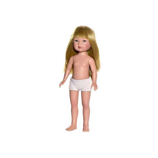 Кукла Карлотта, блондинка с челкой, Vestida de AzulКуклы<br>Характеристики товара:<br><br>• возраст: от 3 лет;<br>• материал: винил;<br>• в комплекте: кукла;<br>• высота куклы: 28 см;<br>• размер упаковки: 35х13х7 см;<br>• вес упаковки: 380 гр.;<br>• страна производитель: Испания.<br><br>Кукла Карлотта блондинка с челкой Vestida de Azul станет отличным подарком для девочки, которая любит наряжать куколок и придумывать им стильные образы. У Карлотты милое личико с большими живыми глазками, щечками с легким румянцем. Густые светлые волосы с челкой очень похожи на натуральные. Девочка сможет расчесывать их, укладывать, заплетать, придумывая кукле разнообразные прически.<br><br>Куклу Карлотту блондинка с челкой Vestida de Azul можно приобрести в нашем интернет-магазине.<br><br>Ширина мм: 350<br>Глубина мм: 120<br>Высота мм: 80<br>Вес г: 380<br>Возраст от месяцев: 36<br>Возраст до месяцев: 2147483647<br>Пол: Женский<br>Возраст: Детский<br>SKU: 6844310