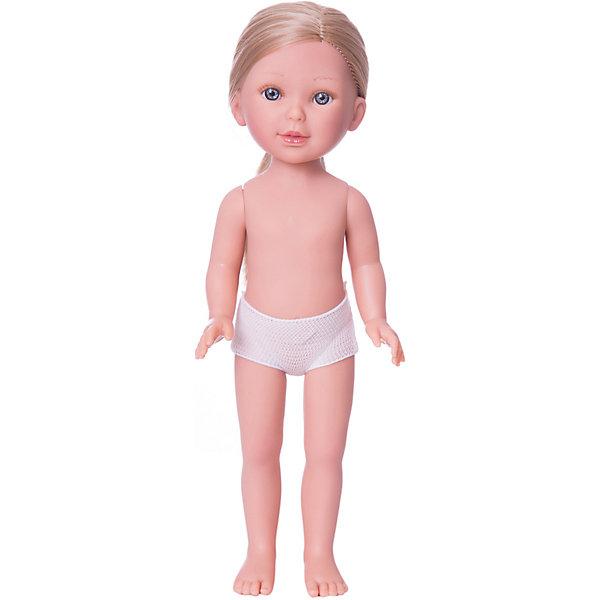 Кукла Паулина, блондинка без челки, Vestida de AzulКуклы<br>Характеристики товара:<br><br>• возраст: от 3 лет;<br>• материал: винил;<br>• в комплекте: кукла;<br>• высота куклы: 33 см;<br>• размер упаковки: 35х14х7 см;<br>• вес упаковки: 370 гр.;<br>• страна производитель: Испания.<br><br>Кукла Паулина блондинка без челки Vestida de Azul станет отличным подарком для девочки, которая любит наряжать куколок и придумывать им стильные образы. У Паулины милое личико с большими живыми глазками, длинными ресницами и щечками с легким румянцем. Густые светлые волосы куклы очень похожи на натуральные. Девочка сможет расчесывать их, укладывать, заплетать, придумывая кукле разнообразные прически. У куклы подвижные руки, ноги и голова.<br><br>Куклу Паулину блондинка без челки Vestida de Azul можно приобрести в нашем интернет-магазине.<br><br>Ширина мм: 350<br>Глубина мм: 120<br>Высота мм: 80<br>Вес г: 700<br>Возраст от месяцев: 36<br>Возраст до месяцев: 2147483647<br>Пол: Женский<br>Возраст: Детский<br>SKU: 6844312