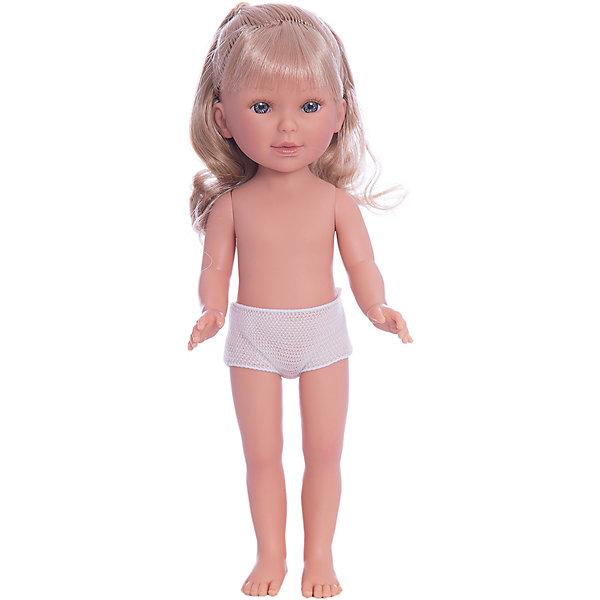 Кукла Паулина, блондинка волнистые волосы, Vestida de AzulКуклы<br>Характеристики товара:<br><br>• возраст: от 3 лет;<br>• материал: винил;<br>• в комплекте: кукла;<br>• высота куклы: 33 см;<br>• размер упаковки: 35х14х7 см;<br>• вес упаковки: 370 гр.;<br>• страна производитель: Испания.<br><br>Кукла Паулина блондинка волнистые волосы Vestida de Azul станет отличным подарком для девочки, которая любит наряжать куколок и придумывать им стильные образы. У Паулины милое личико с большими живыми глазками, длинными ресницами и щечками с легким румянцем. Мягкие волнистые волосы куклы очень похожи на натуральные. Девочка сможет расчесывать их, укладывать, заплетать, придумывая кукле разнообразные прически. У куклы подвижные руки, ноги и голова.<br><br>Куклу Паулину блондинка волнистые волосы Vestida de Azul можно приобрести в нашем интернет-магазине.<br>Ширина мм: 350; Глубина мм: 120; Высота мм: 80; Вес г: 700; Возраст от месяцев: 36; Возраст до месяцев: 2147483647; Пол: Женский; Возраст: Детский; SKU: 6844314;