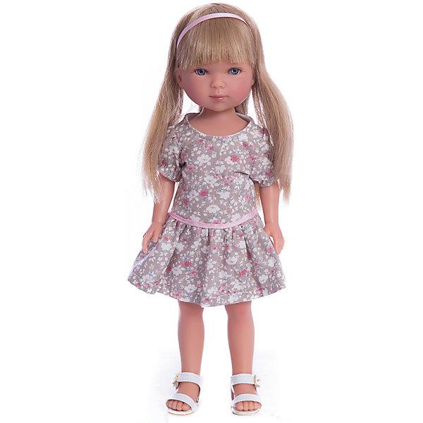 Кукла Карлотта, блондинка с челкой, Лето Кантри, Vestida de AzulКуклы<br>Характеристики товара:<br><br>• возраст: от 3 лет;<br>• материал: винил, текстиль;<br>• в комплекте: кукла, платье;<br>• высота куклы: 28 см;<br>• размер упаковки: 34х15х9 см;<br>• вес упаковки: 355 гр.;<br>• страна производитель: Испания.<br><br>Кукла Карлотта блондинка с челкой «Лето Кантри» Vestida de Azul одета в платье с цветочным принтом и белые босоножки. У Карлотты милое личико с большими живыми глазками, щечками с легким румянцем. Густые светлые волосы с челкой очень похожи на натуральные. Девочка сможет расчесывать их, укладывать, заплетать, придумывая кукле разнообразные прически.<br><br>Куклу Карлотту блондинка с челкой «Лето Кантри» Vestida de Azul можно приобрести в нашем интернет-магазине.<br>Ширина мм: 195; Глубина мм: 95; Высота мм: 350; Вес г: 380; Возраст от месяцев: 36; Возраст до месяцев: 2147483647; Пол: Женский; Возраст: Детский; SKU: 6844334;