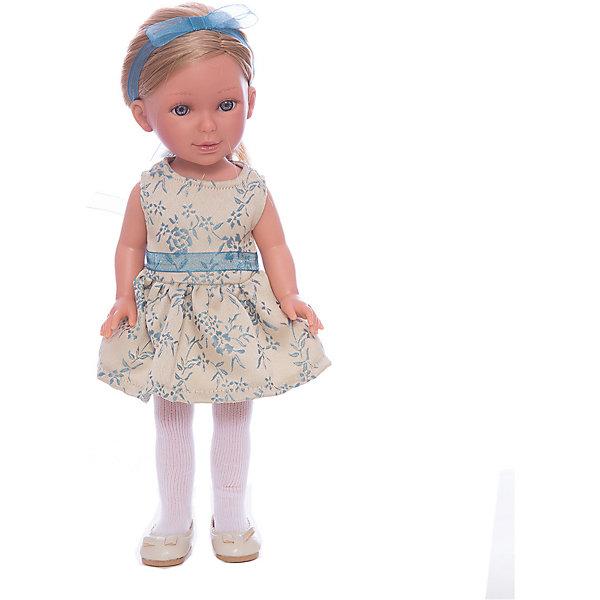 Кукла Паулина, блондинка без челки, Весна Классика, Vestida de AzulБренды кукол<br>Характеристики товара:<br><br>• возраст: от 3 лет;<br>• материал: винил, текстиль;<br>• в комплекте: кукла, наряд;<br>• высота куклы: 33 см;<br>• размер упаковки: 40х18х9 см;<br>• вес упаковки: 715 гр.;<br>• страна производитель: Испания.<br><br>Кукла Паулина блондинка без челки «Весна Классика» Vestida de Azul одета в бежевое платье с голубым поясом, колготки, туфельки, а на голове повязана голубая ленточка. У Паулины милое личико с большими живыми глазками, щечками с легким румянцем. Светлые мягкие волосы очень похожи на натуральные. Девочка сможет расчесывать их, укладывать, заплетать, придумывая кукле разнообразные прически.<br><br>Куклу Паулину блондинка без челки «Весна Классика» Vestida de Azul можно приобрести в нашем интернет-магазине.<br>Ширина мм: 225; Глубина мм: 105; Высота мм: 405; Вес г: 700; Возраст от месяцев: 36; Возраст до месяцев: 2147483647; Пол: Женский; Возраст: Детский; SKU: 6844337;