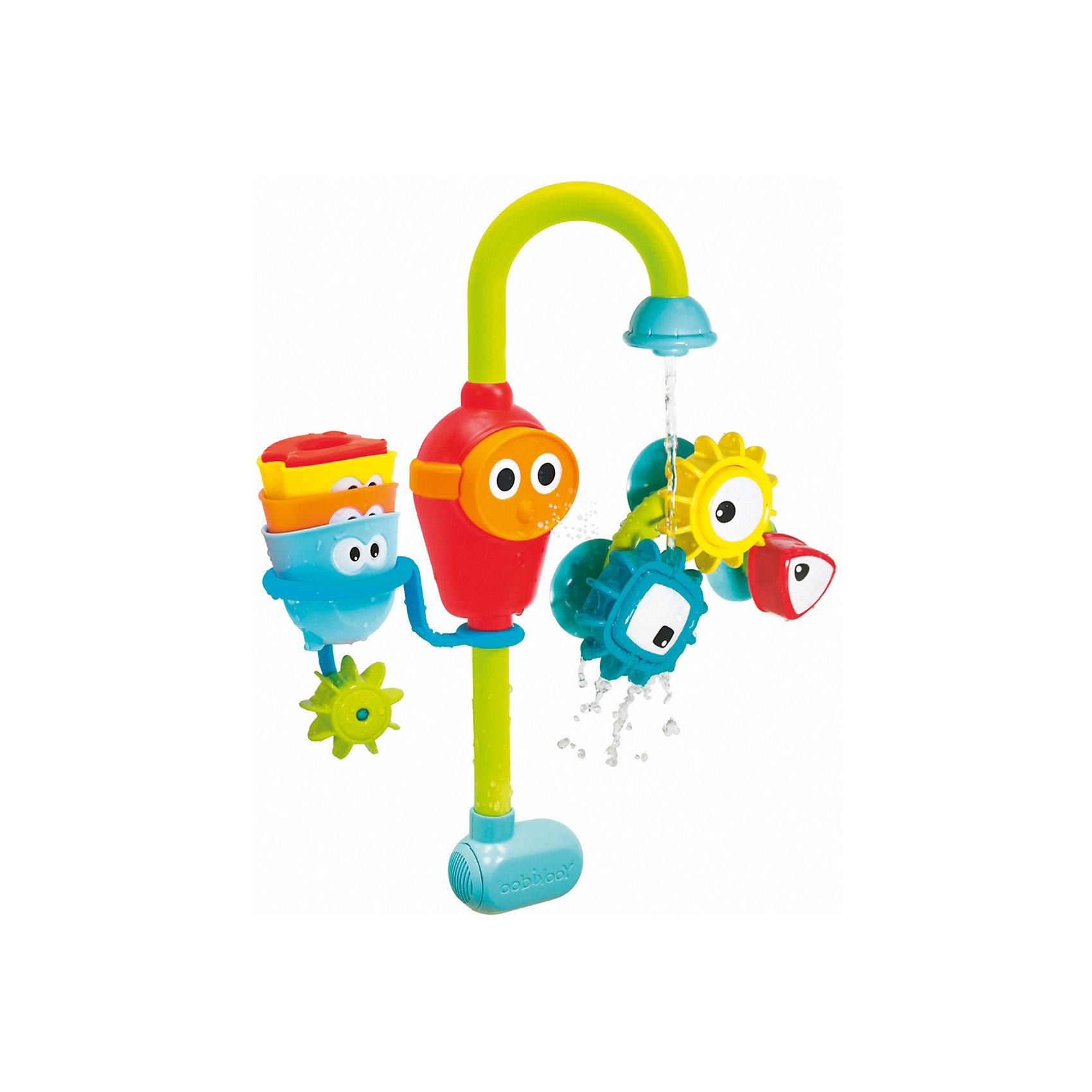 Игрушка водная сортер Волшебный кран большая, YookidooИгрушки для ванной<br>1) Волшебный кран - это многофунциональная водная игрушка, части которой крепятся к любой из стенок ванны. <br>2) Вода попадая под три различные волшебные насадки, постоянно меняет свое направление. <br>3) Насадки можно комбинировать создавая настоящее чудо! <br>4) Все детали игрушки специально разработаны для маленьких ручек.<br>5) Работает от батареек «АА» x 3 (не входят в комплект).<br><br>Ширина мм: 280<br>Глубина мм: 90<br>Высота мм: 390<br>Вес г: 850<br>Возраст от месяцев: -2147483648<br>Возраст до месяцев: 2147483647<br>Пол: Унисекс<br>Возраст: Детский<br>SKU: 6844391