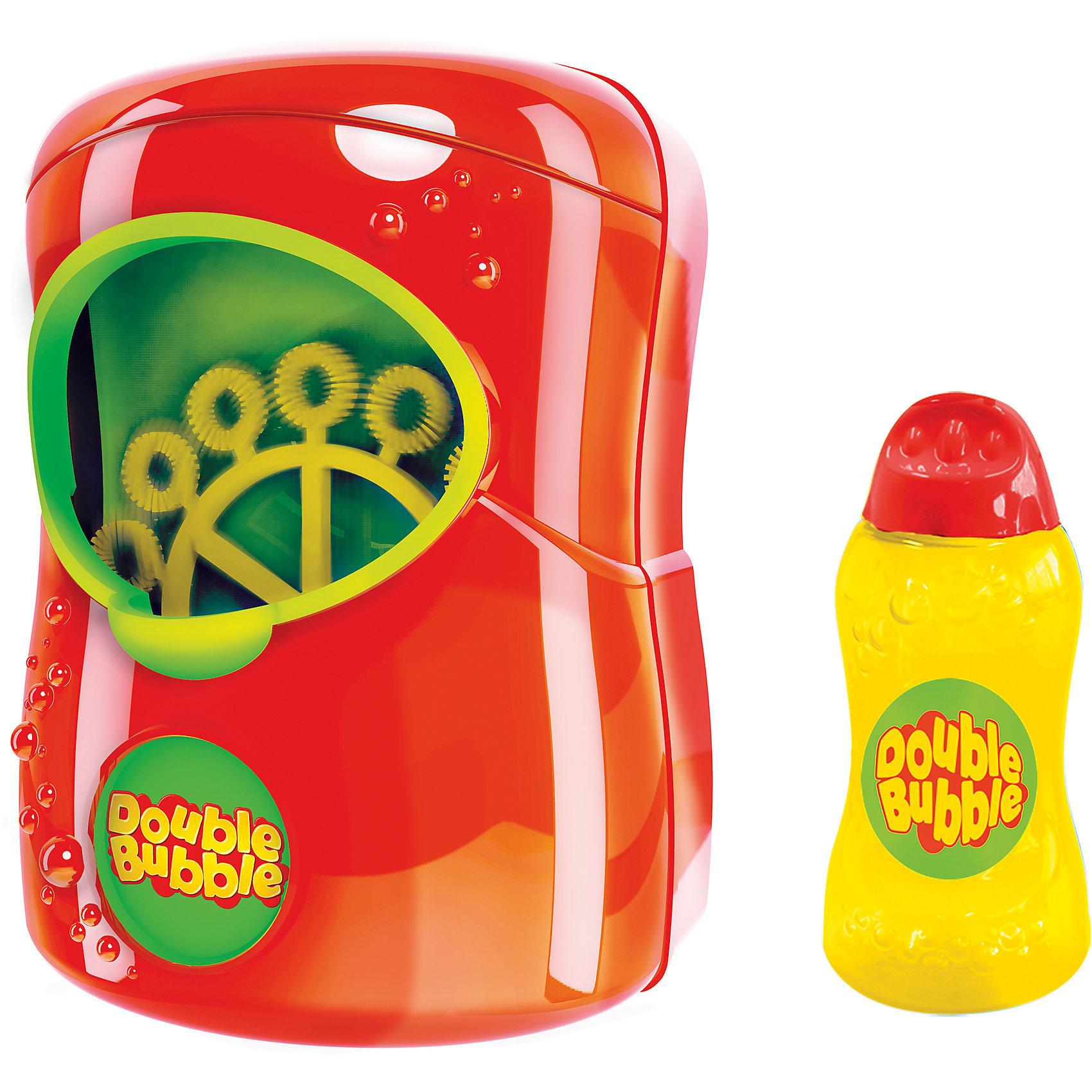 Машина для пускания мыльных пузырей Double Bubble, HTIМыльные пузыри<br>Характеристики:<br><br>• возраст: от 3 лет<br>• комплектация: машинка для пускания мыльных пузырей, мыльная жидкость в бутылочке 125 мл<br>• материал: пластик<br>• батарейки: 4 х AA / LR6 1.5V (пальчиковые)<br>• наличие батареек: не входят в комплект<br>• упаковка: картонная коробка открытого типа<br>• размер упаковки: 21х25,5х10,5 см.<br>• вес: 685 гр.<br><br>Машина для пускания мыльных пузырей Double Bubble от известного бренда HTI отлично подойдет для веселых игр на свежем воздухе.<br>Для запуска достаточно налить мыльную жидкость в устройство и нажать на кнопку включения.<br>Машина для пускания мыльных пузырей изготовлена из пластика высокого качества.<br><br>Машину для пускания мыльных пузырей Double Bubble, HTI можно купить в нашем интернет-магазине.<br><br>Ширина мм: 255<br>Глубина мм: 105<br>Высота мм: 210<br>Вес г: 685<br>Возраст от месяцев: 36<br>Возраст до месяцев: 2147483647<br>Пол: Унисекс<br>Возраст: Детский<br>SKU: 6845739