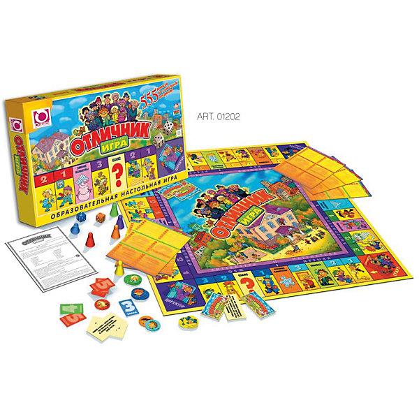 Настольная игра FunGame Отличник, OrigamiЭкономические настольные игры<br>Характеристики:<br><br>• возраст: от 6 лет<br>• комплектация: игровое поле, 24 филиала; 12 предприятий; 20 карточек «Шанс»; 30 карточек «Фортуна»; 26 карточек «Участков»; банкноты ( 1, 5, 10, 20, 50, 100, 500 франтов по 48 шт); , акции 48 шт; страховые полисы ( 12 зеленых, 12 синих, 12 оранжевых, 12 красных); 6 фишек игроков; 2 кубика; правила игры<br>• количество игроков: от 2 до 6 человек<br>• средняя продолжительность игры: 90 минут<br>• размер игрового поля: 48х48 см.<br>• размер банкноты: 10х5 см.<br>• материал: картон, пластик<br>• упаковка: картонная коробка<br>• размер упаковки: 25,5х39х4,4 см.<br>• вес: 562 гр.<br><br>Экономическая игра - отличная возможность научиться разбираться в мире бизнеса, завоёвывать доверие клиента своими личными качествами. Играя, ребёнок получает возможность пройти путь от менеджера до генерального директора компании.<br><br>Игра «Миллионер Элит» отличается от классической версии игры дополнительной комплектацией: впервые к традиционному набору – игровое поле, фишки, кубики, предприятия с филиалами, банкноты и различные карточки событий – добавились Акции и Страховые полисы на все случаи жизни. <br><br>Теперь пополнение банковского счета игрока зависит не только от удачной купли-продажи имущества, но и от непредсказуемого «поведения» акций на рынке ценных бумаг. Игра развивает логическое и экономическое мышление, обучает основам экономики, повышает общий интеллектуальный уровень.<br><br>Настольную игру FunGame Миллионер-элит, Origami (Оригами) можно купить в нашем интернет-магазине.<br>Ширина мм: 46; Глубина мм: 390; Высота мм: 255; Вес г: 550; Возраст от месяцев: 72; Возраст до месяцев: 2147483647; Пол: Унисекс; Возраст: Детский; SKU: 6845960;