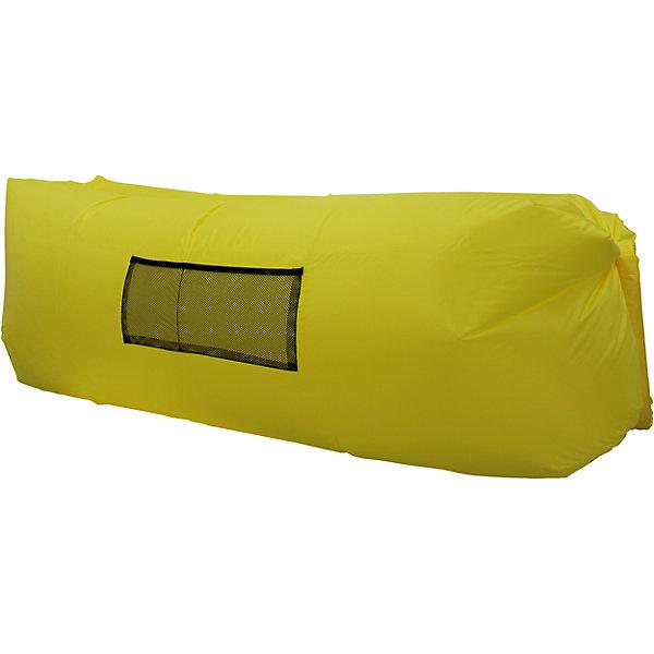 Надувной лежак, желтыйДетские мягкие кресла<br>Характеристики товара:<br><br>• возраст: от 3 лет;<br>• максимальная нагрузка: 200 кг;<br>• материал: полиэстер;<br>• размер лежака: 220х140х65 см;<br>• размер в сумке: 35х18 см;<br>• вес упаковки: 1,3 кг;<br>• страна производитель: Китай.<br><br>Надувной лежак Hubster желтый подойдет для отдыха дома и на свежем воздухе. Удивительный лежак надувается без насоса. Нужно помахать изделием, как будто набирая в него воздух. Такая система с воздухом внутри выдерживает до 2 часов в зависимости от веса человека.<br><br>Спереди на лежаке кармашек для журналов, книг, мелочей. Выполнен лежак из прочного водоотталкивающего материала. Его можно стирать в стиральной машине в режиме холодной стирки. После использования удобно хранить в сумочке, которая идет в комплекте. <br><br>Надувной лежак Hubster желтый можно приобрести в нашем интернет-магазине.<br><br>Ширина мм: 2200<br>Глубина мм: 1400<br>Высота мм: 650<br>Вес г: 1300<br>Возраст от месяцев: 36<br>Возраст до месяцев: 2147483647<br>Пол: Унисекс<br>Возраст: Детский<br>SKU: 6846209