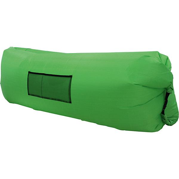 Надувной лежак, зеленыйДетские мягкие кресла<br>Характеристики товара:<br><br>• возраст: от 3 лет;<br>• максимальная нагрузка: 200 кг;<br>• материал: полиэстер;<br>• размер лежака: 220х140х65 см;<br>• размер в сумке: 35х18 см;<br>• вес упаковки: 1,3 кг;<br>• страна производитель: Китай.<br><br>Надувной лежак Hubster зеленый подойдет для отдыха дома и на свежем воздухе. Удивительный лежак надувается без насоса. Нужно помахать изделием, как будто набирая в него воздух. Такая система с воздухом внутри выдерживает до 2 часов в зависимости от веса человека.<br><br>Спереди на лежаке кармашек для журналов, книг, мелочей. Выполнен лежак из прочного водоотталкивающего материала. Его можно стирать в стиральной машине в режиме холодной стирки. После использования удобно хранить в сумочке, которая идет в комплекте. <br><br>Надувной лежак Hubster зеленый можно приобрести в нашем интернет-магазине.<br><br>Ширина мм: 2200<br>Глубина мм: 1400<br>Высота мм: 650<br>Вес г: 1300<br>Возраст от месяцев: 36<br>Возраст до месяцев: 2147483647<br>Пол: Унисекс<br>Возраст: Детский<br>SKU: 6846210