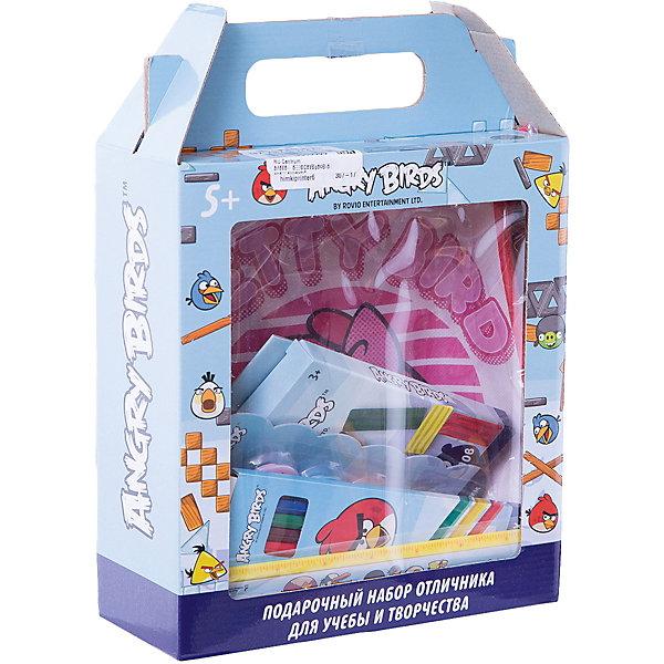Centrum Подарочный набор отличника для учебы и творчества Angry BirdsШкольные аксессуары<br>Подарочный набор отличника Angry Birds для учебы и творчества. Состав набора: сумка, ластик, линейка, набор магнитов, пластилин, клей, точилка, карандаши цветные<br>Ширина мм: 90; Глубина мм: 215; Высота мм: 285; Вес г: 50; Возраст от месяцев: 72; Возраст до месяцев: 2147483647; Пол: Унисекс; Возраст: Детский; SKU: 6846685;