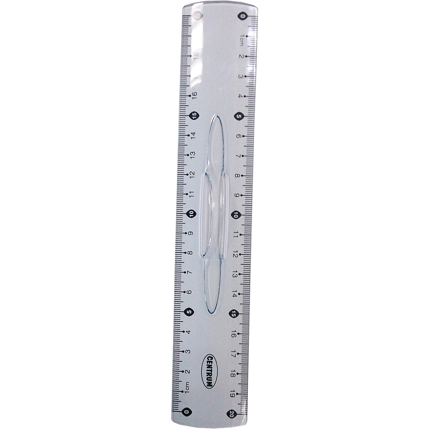Centrum Линейка 20 см, пластиковая с держателемЛинейки<br>Линейка 20 см, пластиковая с держателем<br><br>Ширина мм: 15<br>Глубина мм: 40<br>Высота мм: 270<br>Вес г: 24<br>Возраст от месяцев: 72<br>Возраст до месяцев: 2147483647<br>Пол: Унисекс<br>Возраст: Детский<br>SKU: 6846741