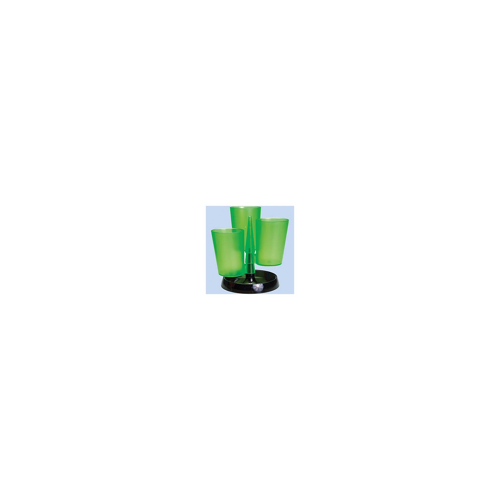 Centrum Настольная подставка пластиковая, 3 стакана, пластикова, без наполнения, цвет ассортиНужные мелочи<br>Настольная подставка пластиковая, 3 стакана, пластикова, без наполнения, цвет ассорти<br><br>Ширина мм: 170<br>Глубина мм: 170<br>Высота мм: 110<br>Вес г: 220<br>Возраст от месяцев: 72<br>Возраст до месяцев: 2147483647<br>Пол: Унисекс<br>Возраст: Детский<br>SKU: 6846747