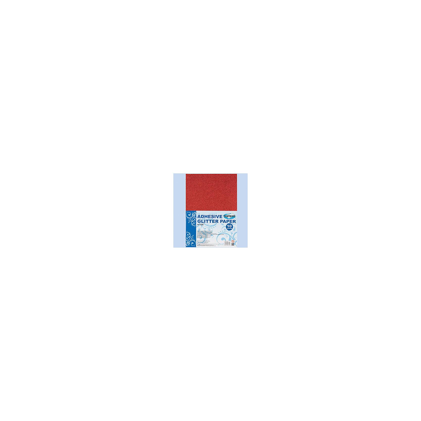 Centrum Набор декоративной бумаги GlITTER А4, 10 цветовАксессуары для творчества<br>Набор декоративной бумаги GlITTER самоклеющаяся с блестками, для детского творчества (аппликации), формат А4, 10 цветов<br><br>Ширина мм: 5<br>Глубина мм: 210<br>Высота мм: 298<br>Вес г: 199<br>Возраст от месяцев: 72<br>Возраст до месяцев: 2147483647<br>Пол: Унисекс<br>Возраст: Детский<br>SKU: 6846764