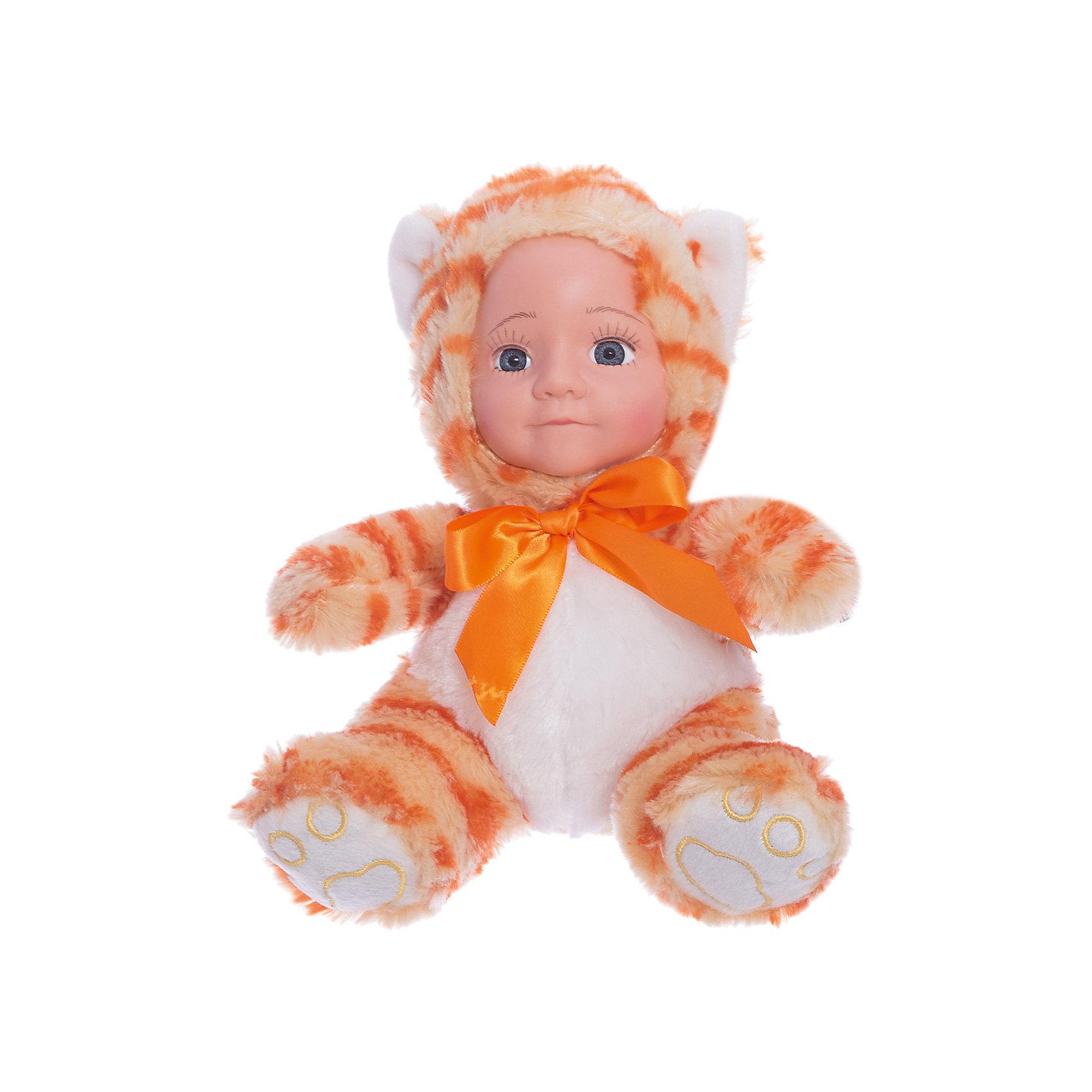 Мягкая кукла Мой котенок, Fluffy FamilyМягкие куклы<br><br><br>Ширина мм: 160<br>Глубина мм: 130<br>Высота мм: 200<br>Вес г: 135<br>Возраст от месяцев: 36<br>Возраст до месяцев: 2147483647<br>Пол: Унисекс<br>Возраст: Детский<br>SKU: 6846886