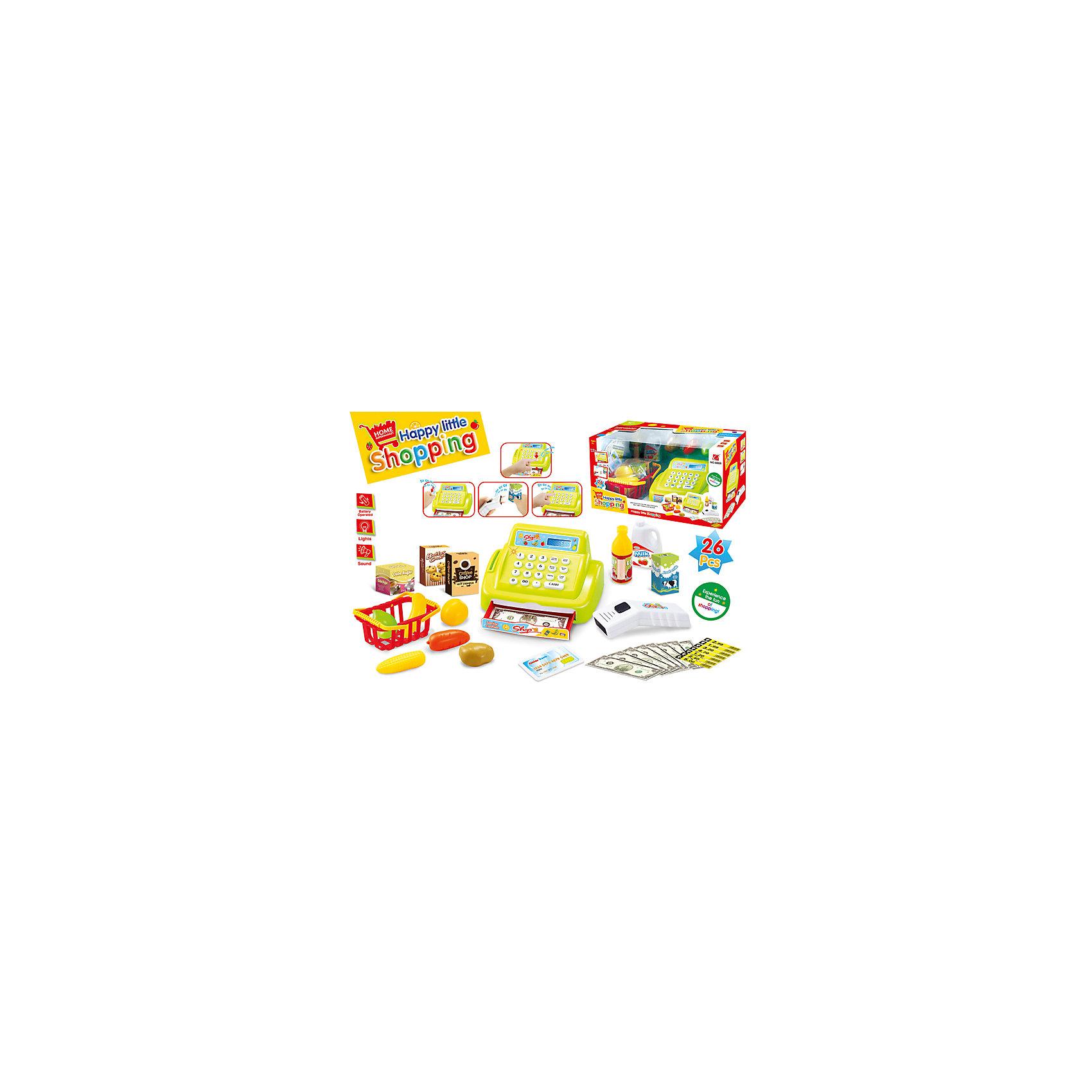 Касса Shantou Gepai со сканером, светом и звукомДетский супермаркет<br>Характеристики:<br><br>• световые и звуковые эффекты;<br>• в комплекте: касса, сканер, деньги, карточки, товары, корзина;<br>• материал: пластик;<br>• возраст: от 3-х лет;<br>• батарейки: АА - 2 шт. (не входят в комплект);<br>• размер упаковки: 17х16,5х30,5 см;<br>• вес: 592 грамма;<br>• страна: Китай.<br><br>Касса со сканером отлично дополнит магазин юного кассира. В набор входят продукты, кассовый аппарат со сканером, игрушечные деньги, карточки и корзина.<br><br>Игрушка оснащена световыми и звуковыми эффектами. При нажатии на кнопку сканер подсвечивается и издает реалистичные звуки. При оплате картой аппарат пищит. <br><br>Касса оснащена ящиком для денег, который открывается при нажатии на кнопку. <br><br>Для работы необходимы две батарейки АА (не входят в комплект).<br><br>Кассу со сканером, со светом и звуком, Shantou Gepai (Шанту Гепай) можно купить в нашем интернет-магазине.<br><br>Ширина мм: 305<br>Глубина мм: 165<br>Высота мм: 170<br>Вес г: 592<br>Возраст от месяцев: 36<br>Возраст до месяцев: 2147483647<br>Пол: Унисекс<br>Возраст: Детский<br>SKU: 6846890