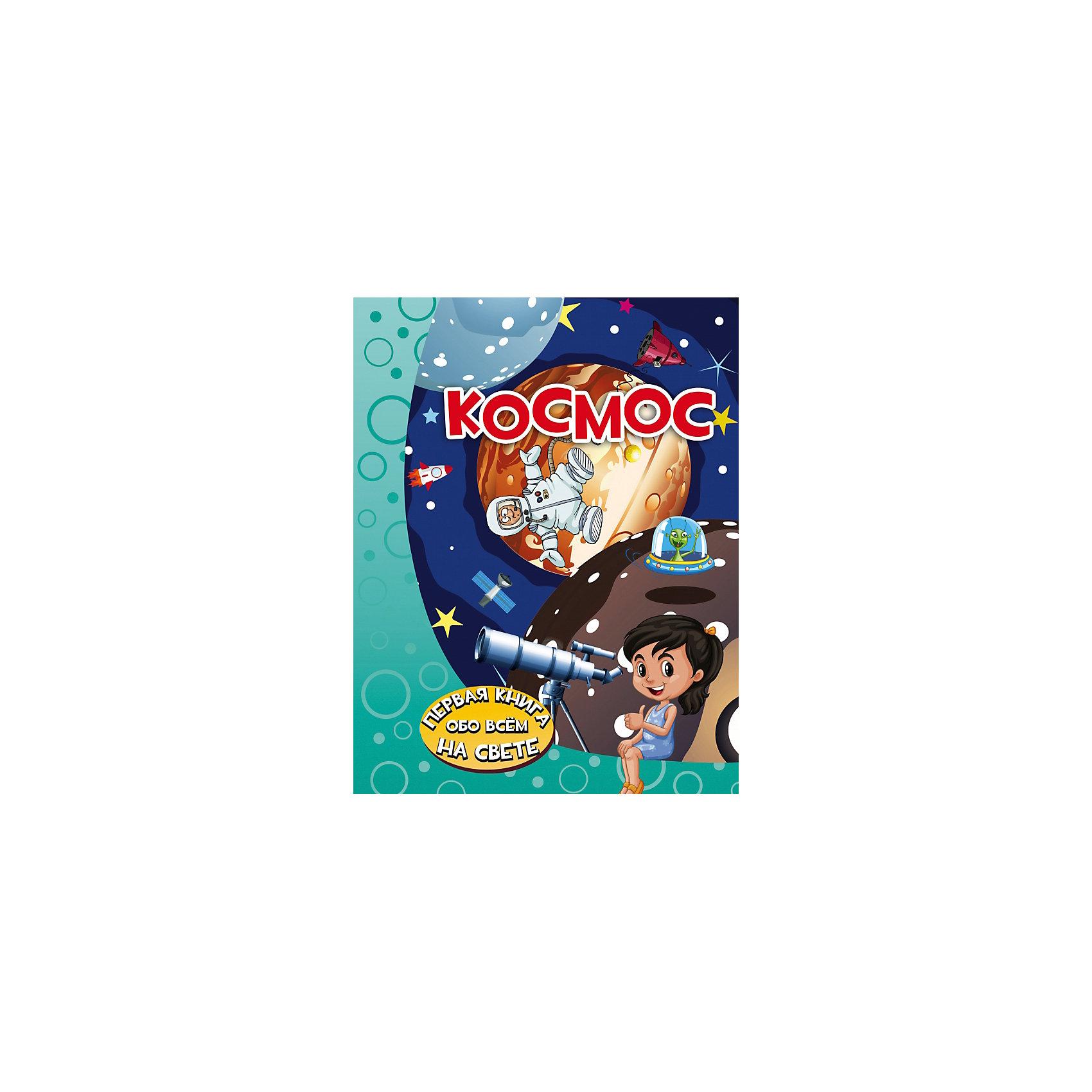 Энциклопедия для малышей КосмосДетские энциклопедии<br>Эта книга Космос понравится каждому малышу, ведь она отправит его в увлекательнейшее путешествие в далёкий космос, где он познакомится с планетами, звёздами, кометами, астероидами и другими небесными телами.<br>Маленький читатель получит ответы на множество вопросов: какая наука изучает звёздное небо и что скрывается под таким загадочным словом, как гравитация, как возникает Солнечное затмение и чем оно отличается от лунного, какая звезда согревает нашу планету и как называется галактика, в которой мы живём, и, конечно же, он узнает о том, кто первым из людей полетел в космос. Текст книги написан интересным, а главное, понятным и доступным языком — специально для дошколят. А красочные иллюстрации непременно понравятся детишкам: созвездия, планеты, другие небесные тела представлены на них очень достоверно и в то же время забавно. Итак, открывайте книгу и поскорее начинайте путешествие в бесконечный и такой удивительный мир космоса!<br>Для дошкольного возраста.<br><br>Ширина мм: 255<br>Глубина мм: 197<br>Высота мм: 160<br>Вес г: 866<br>Возраст от месяцев: 48<br>Возраст до месяцев: 2147483647<br>Пол: Унисекс<br>Возраст: Детский<br>SKU: 6848303