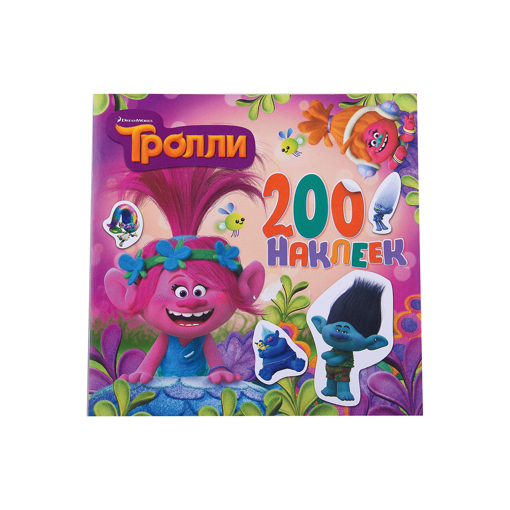 Альбом с наклейками, цвет розовый, ТроллиТворчество для малышей<br>200 ярких наклеек с любимыми персонажами! Отправляйтся в путешествие с Розочкой и Цветаном, чтобы выручить их друзей-троллей из беды!<br><br>Ширина мм: 207<br>Глубина мм: 210<br>Высота мм: 160<br>Вес г: 55<br>Возраст от месяцев: 48<br>Возраст до месяцев: 72<br>Пол: Унисекс<br>Возраст: Детский<br>SKU: 6848394