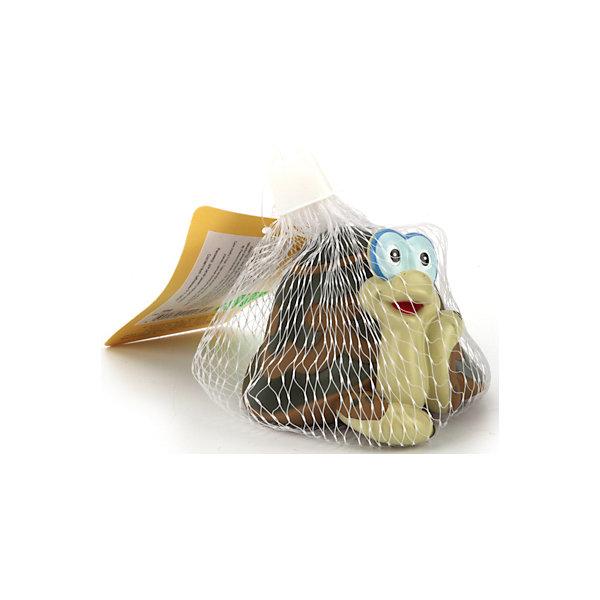 Фигурка для ванной  Черепаха, Играем ВместеСоветские мультфильмы<br>Характеристики товара:<br><br>• возраст: от 6 месяцев;<br>• материал: ПВХ;<br>• размер упаковки: 11х9х7 см;<br>• вес упаковки: 50 гр.;<br>• страна производитель: Россия.<br><br>Игрушка для ванной «Черепаха» Играем Вместе выполнена в виде известного персонажа мультфильма. Игрушка превратит купание малыша в веселый и увлекательный процесс. Если нажать на нее, она запищит. Игрушка способствует развитию мелкой моторики рук, цветового восприятия, тактильных ощущений. Выполнена из безопасного приятного на ощупь материала.<br><br>Игрушку для ванной «Черепаха» Играем Вместе можно приобрести в нашем интернет-магазине.<br>Ширина мм: 70; Глубина мм: 90; Высота мм: 110; Вес г: 50; Возраст от месяцев: 12; Возраст до месяцев: 60; Пол: Унисекс; Возраст: Детский; SKU: 6848805;
