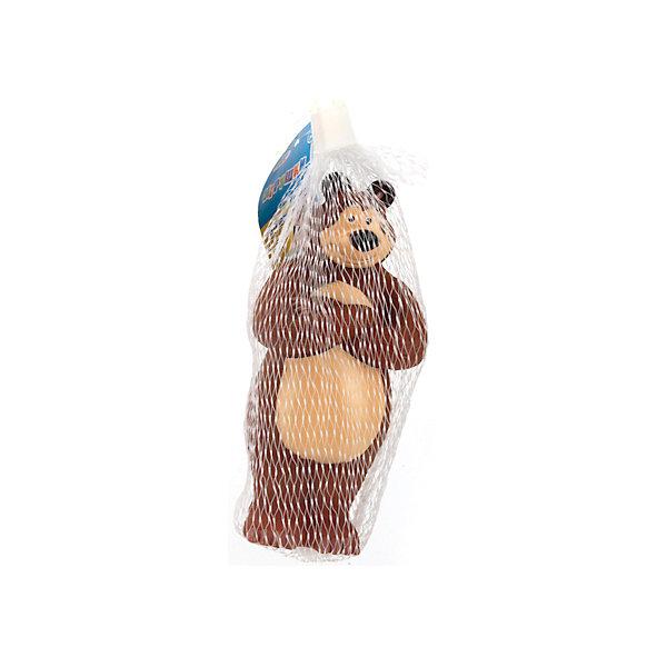 Фигурка для ванной  Маша и Медведь. Медведь, Играем ВместеПопулярные игрушки<br>Характеристики товара:<br><br>• возраст: от 6 месяцев;<br>• материал: ПВХ;<br>• размер упаковки: 20х6х5 см;<br>• вес упаковки: 60 гр.;<br>• страна производитель: Россия.<br><br>Игрушка для ванной «Маша и медведь. Медведь» Играем Вместе выполнена в виде известного персонажа Медведя из мультфильма «Маша и медведь». Игрушка превратит купание малыша в веселый и увлекательный процесс. Если нажать на нее, она запищит. Игрушка способствует развитию мелкой моторики рук, цветового восприятия, тактильных ощущений. Выполнена из безопасного приятного на ощупь материала.<br><br>Игрушку для ванной «Маша и медведь. Медведь» Играем Вместе можно приобрести в нашем интернет-магазине.<br><br>Ширина мм: 60<br>Глубина мм: 50<br>Высота мм: 200<br>Вес г: 60<br>Возраст от месяцев: 12<br>Возраст до месяцев: 60<br>Пол: Унисекс<br>Возраст: Детский<br>SKU: 6848807