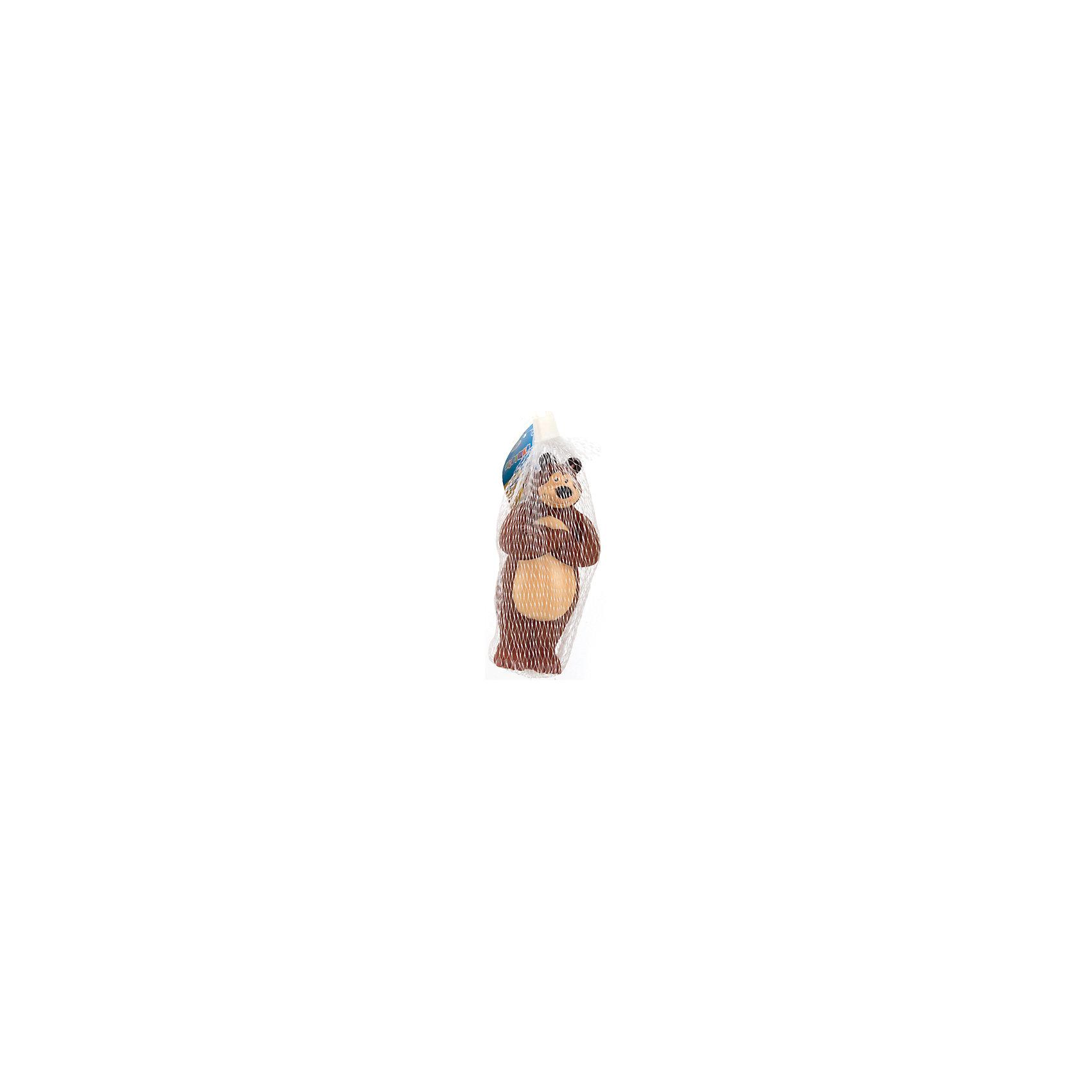 Фигурка для ванной  Маша и Медведь. Медведь, Играем ВместеИгрушки ПВХ<br><br><br>Ширина мм: 60<br>Глубина мм: 50<br>Высота мм: 200<br>Вес г: 60<br>Возраст от месяцев: 12<br>Возраст до месяцев: 60<br>Пол: Унисекс<br>Возраст: Детский<br>SKU: 6848807
