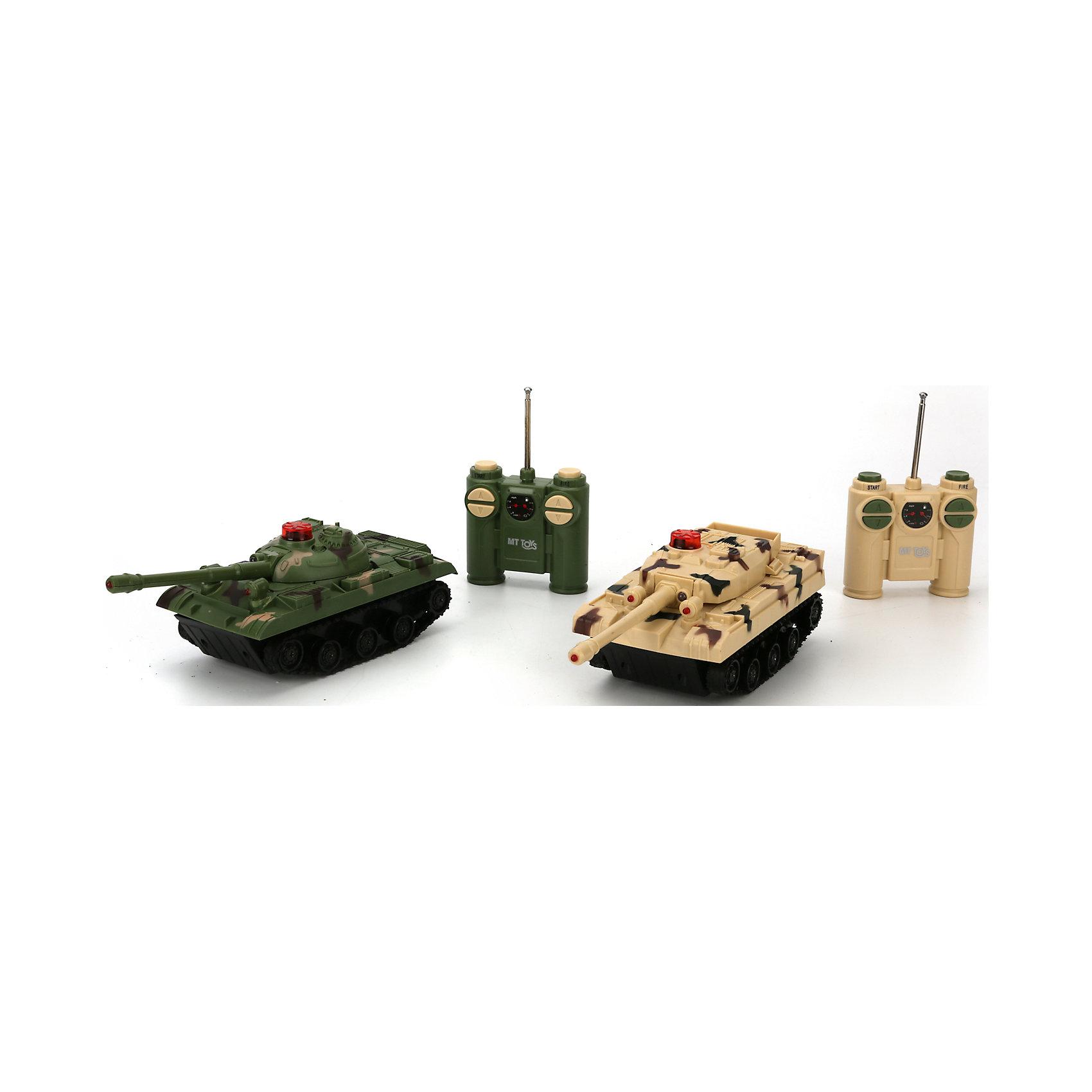 Набор из 2-х танков, радиоуправляемые, Играем ВместеИгровые наборы<br><br><br>Ширина мм: 260<br>Глубина мм: 80<br>Высота мм: 210<br>Вес г: 700<br>Возраст от месяцев: 60<br>Возраст до месяцев: 120<br>Пол: Унисекс<br>Возраст: Детский<br>SKU: 6848812