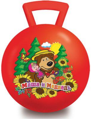 Играем вместе Мяч Маша и Медведь , 55 см, с ручкой, Играем Вместе