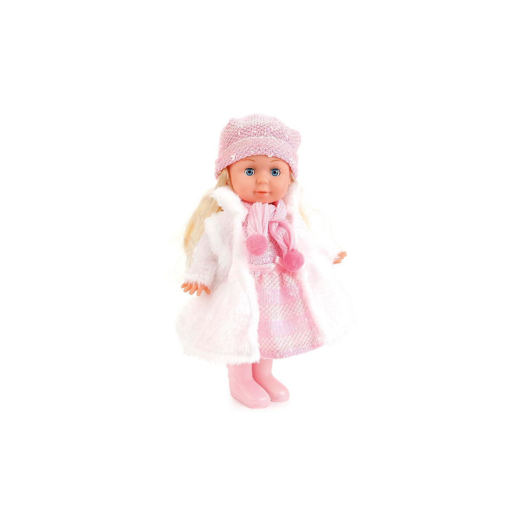 Кукла, 30 см, озвученная с набором одежды, КарапузИнтерактивные куклы<br><br><br>Ширина мм: 310<br>Глубина мм: 90<br>Высота мм: 260<br>Вес г: 540<br>Возраст от месяцев: 36<br>Возраст до месяцев: 60<br>Пол: Унисекс<br>Возраст: Детский<br>SKU: 6848825