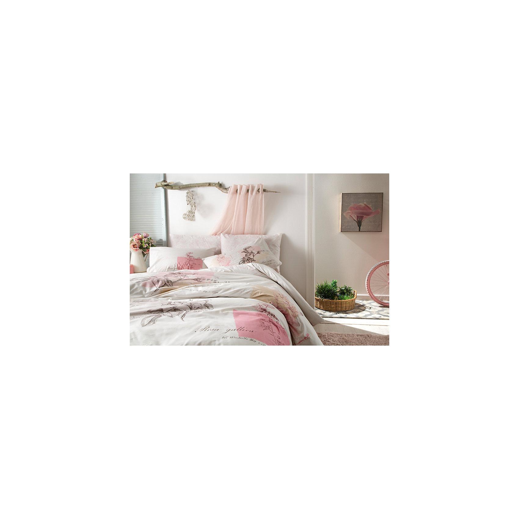 Постельное белье 1,5 сп. Betsy, Ranforce, TAC, розовыйДомашний текстиль<br>Характеристики товара: <br><br>• комплектация: пододеяльник (160х220см), наволочка (50х70см), простынь (180х260см)<br>• общий размер: 1,5-спальный;<br>• материал: ранфорс (100% хлопок);<br>• цвет: розовый;<br>• страна бренда: Турция;<br>• страна производитель: Турция.<br><br>Это постельное бельё от турецкого бренда TAC (ТАЧ) отлично впишется в интерьер. Несмотря на плотность ткани, она состоит из мельчайших волокон, что придаёт мягкость и воздушность изделию. Все материалы, которые входят в состав этого комплекта, гипоаллергенны и не вызывают неприятных ощущений. Это бельё не боится воды, так как пропускает через себя около 20% влаги и выводит наружу, поэтому её очень легко сушить. Такие материалы не электризуются, а наоборот способствуют улучшению сна и хорошо пропускают воздух.<br> <br>Такой комплект очень устойчив к частым стиркам, его рекомендуется стирать обычным порошком. Ткань отличается особой износоустойчивостью и прочностью.<br><br>Постельное белье  Betsy (Бетси) можно купить в нашем интернет-магазине.<br><br>Ширина мм: 270<br>Глубина мм: 70<br>Высота мм: 390<br>Вес г: 2200<br>Возраст от месяцев: 216<br>Возраст до месяцев: 1188<br>Пол: Унисекс<br>Возраст: Детский<br>SKU: 6849246