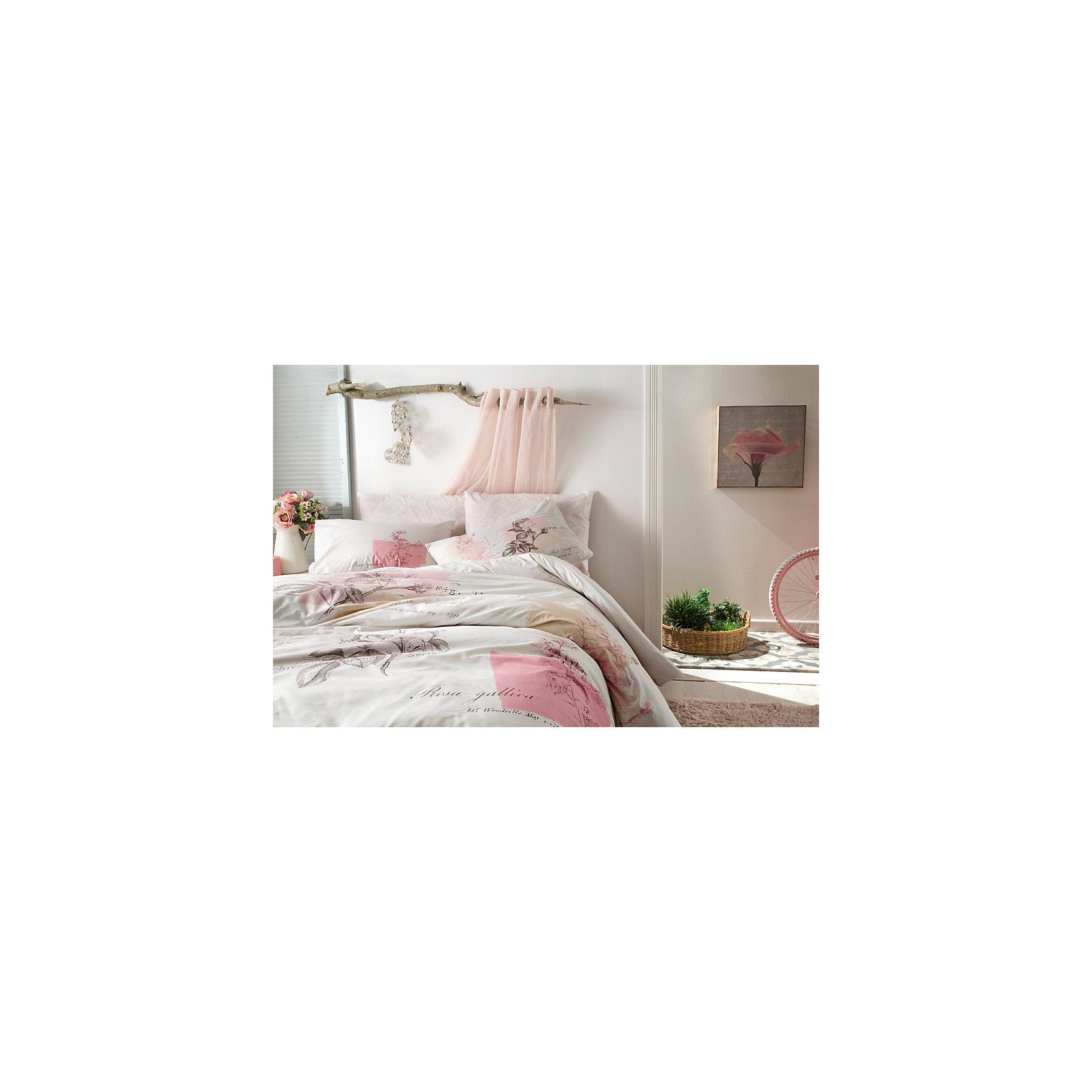 Постельное белье семейный Betsy, Ranforce, TAC, розовыйДомашний текстиль<br>Характеристики товара: <br><br>• комплектация: пододеяльник 2шт.(160х220см), наволочка 2шт.(70х70см), простынь (240х260см);<br>• общий размер:  семейный;<br>• материал: ранфорс (100% хлопок);<br>• цвет: розовый;<br>• страна бренда: Туркмения;<br>• страна производитель: Турция.<br><br>Это постельное бельё от турецкого бренда TAC (ТАЧ) отлично впишется в интерьер. Несмотря на плотность ткани, она состоит из мельчайших волокон, что придаёт мягкость и воздушность изделию. Все материалы, которые входят в состав этого комплекта, гипоаллергенны и не вызывают неприятных ощущений.<br><br>Постельное бельё не боится воды, так как пропускает через себя около 20% влаги и выводит наружу, поэтому её очень легко сушить. Такие материалы не электризуются, а наоборот способствуют улучшению сна и хорошо пропускают воздух.<br> <br>Такой комплект очень устойчив к частым стиркам, его рекомендуется стирать обычным порошком. Ткань отличается особой износоустойчивостью и прочностью.<br><br>Постельное белье  Betsy (Бетси) можно купить в нашем интернет-магазине.<br><br>Ширина мм: 270<br>Глубина мм: 80<br>Высота мм: 370<br>Вес г: 3500<br>Возраст от месяцев: 216<br>Возраст до месяцев: 1188<br>Пол: Унисекс<br>Возраст: Детский<br>SKU: 6849259