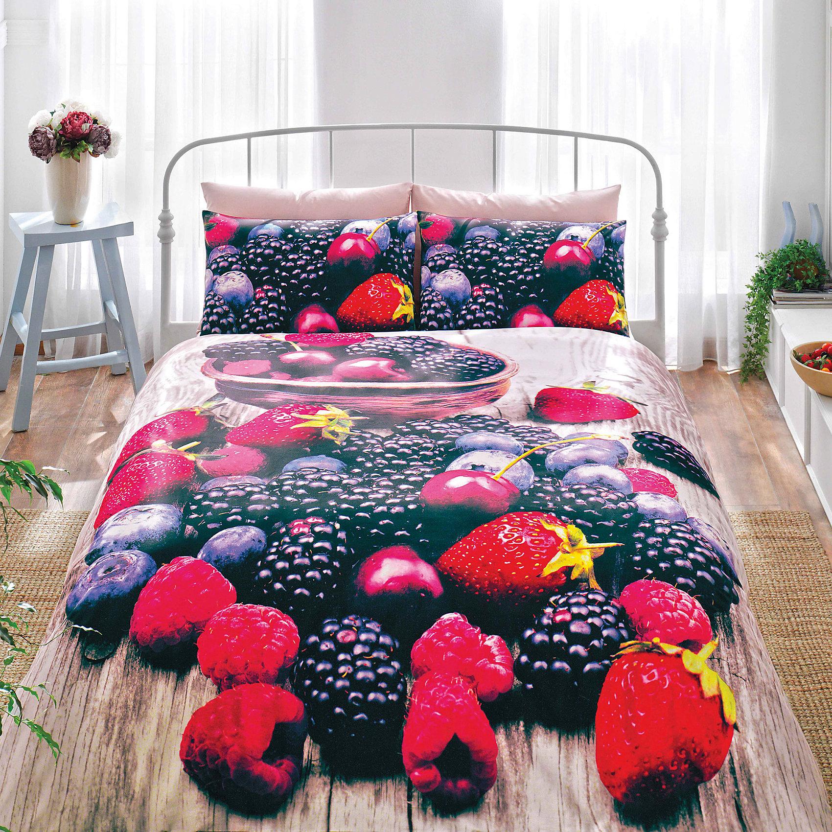 Постельное белье 1,5 сп Berry V01-KIRMIZI, 3D Saten, TAC, красныйДомашний текстиль<br>Характеристики товара: <br><br>• комплектация: пододеяльник(160х220см), наволочка 2шт. (50х70см.), простынь (180х260см);<br>• общий размер: 1.5-спальный;<br>• материал: хлопковый сатин (100% хлопок);<br>• цвет: красный;<br>• страна бренда: Турция;<br>• страна производитель: Турция.<br><br>Это постельное бельё от турецкого бренда TAC (ТАЧ) отлично впишется в интерьер. Несмотря на плотность ткани, она состоит из мельчайших волокон, что придаёт мягкость и воздушность изделию. Все материалы, которые входят в состав этого комплекта, гипоаллергенны и не вызывают неприятных ощущений. <br><br>Благодаря сильно скрученным нитям в плотной ткани материал становится гладким и немного блестящим. Такие материалы не электризуются, а наоборот способствуют улучшению сна и хорошо пропускают воздух. <br><br>Такой комплект можно смело стирать, сатин хорошо сохраняет яркость красок, даже после частых стирок рисунок не выцветает и не покрывается катышками. Рекомендуется стирать обычным порошком. <br><br>Постельное белье Berry (Берри) можно купить в нашем интернет-магазине.<br><br>Ширина мм: 370<br>Глубина мм: 70<br>Высота мм: 370<br>Вес г: 3400<br>Возраст от месяцев: 216<br>Возраст до месяцев: 1188<br>Пол: Унисекс<br>Возраст: Детский<br>SKU: 6849291