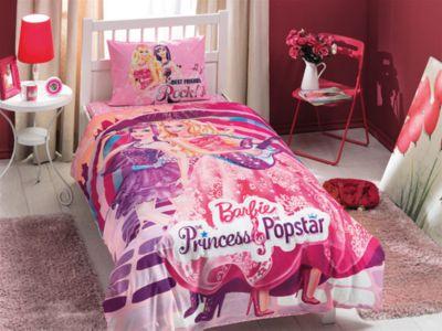 Детское постельное белье 1,5 сп. TAC, Barbie Princess Popstar фото-1