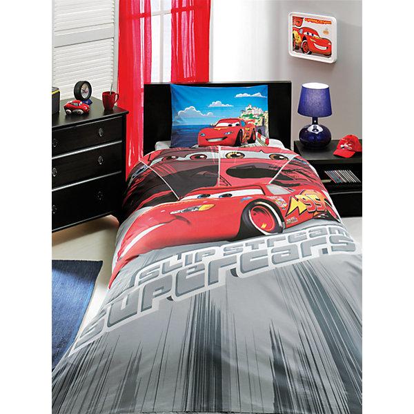 Постельное белье 3 пред. Cars Face Movie, Ranforce/Disney, TACДетское постельное бельё<br>Характеристики товара: <br><br>• комплектация: пододеяльник (160х220см), наволочка (50х70см), простынь (180х200см);<br>• общий размер: 1.5-спальный;<br>• материал: ранфорс (100% хлопок);<br>• цвет: чёрный, серый, красный;<br>• страна бренда: Турция;<br>• страна производитель: Турция.<br><br>Это постельное бельё от турецкого бренда TAC (ТАЧ) отлично подойдёт маленькой девочке, мечтающей о собственном волшебном мире. Несмотря на плотность ткани, она состоит из мельчайших волокон, что придаёт мягкость и воздушность изделию. Все материалы, которые входят в состав этого комплекта, гипоаллергенны и не вызывают неприятных ощущений. <br><br>Постельное бельё не боится воды, так как пропускает через себя около 20% влаги и выводит наружу, поэтому её очень легко сушить. Кроме того, контроль влаги поддерживает температурный баланс тела. Благодаря специальному составу материал не электризуется и способствует улучшению сна ребёнка.<br><br> Такой комплект очень устойчив к частым стиркам, его рекомендуется стирать обычным детским мылом без отдушек.<br> Сказочный мир с персонажами из мультфильма «Тачки» в главных ролях будет всегда создавать уют и радовать ребенка.<br><br>Постельное белье Cars Face Movie (Карс Фэйс Муви) можно купить в нашем интернет-магазине.<br><br>Ширина мм: 350<br>Глубина мм: 150<br>Высота мм: 150<br>Вес г: 1300<br>Возраст от месяцев: 36<br>Возраст до месяцев: 144<br>Пол: Мужской<br>Возраст: Детский<br>SKU: 6849299