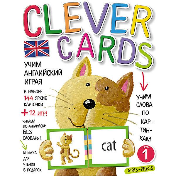 Учим английский играя, уровень 1Иностранный язык<br>Характеристики товара:<br><br>• возраст: от 6 лет<br>• комплектация: 144 карточки с цветовым ключом для самопроверки; методические рекомендации; книга со сказкой «The Cat and the Mouse» в подарок.<br>• темы: Животные; Еда; Дом; Что едят животные; Кто где живет; Счет; Цвета.<br>• производитель: Айрис-пресс<br>• серия: Умные карточки<br>• материал карточек: картон<br>• иллюстрации: цветные<br>• упаковка: картонная коробка<br>• размер упаковки: 24,5х16,8х1,5 см.<br>• вес: 250 гр.<br><br>Набор «Учим английский играя, уровень 1» поможет детям быстро и незаметно для себя освоить значительную часть лексики начальной школы и даст возможность читать английские тексты без словаря.<br><br>В наборе 144 яркие игровые карточки. Для каждого изображения есть парная карточка с названием. На всех карточках находится цветовой ключ, с помощью которого ребёнок может сам проверить, правильно ли он подобрал слово.<br><br>Кроме того, в наборе вы найдёте сборник с методическими рекомендациями, который поможет вам правильно организовать обучающие игры.<br><br>Книжка со сказкой «The Cat and the Mouse» - это подарок. Попробуйте прочитать её, не пользуясь словарем в конце книжки.<br><br>Набор «Учим английский играя, уровень 1» можно купить в нашем интернет-магазине.<br><br>Ширина мм: 15<br>Глубина мм: 170<br>Высота мм: 220<br>Вес г: 250<br>Возраст от месяцев: -2147483648<br>Возраст до месяцев: 2147483647<br>Пол: Унисекс<br>Возраст: Детский<br>SKU: 6849552