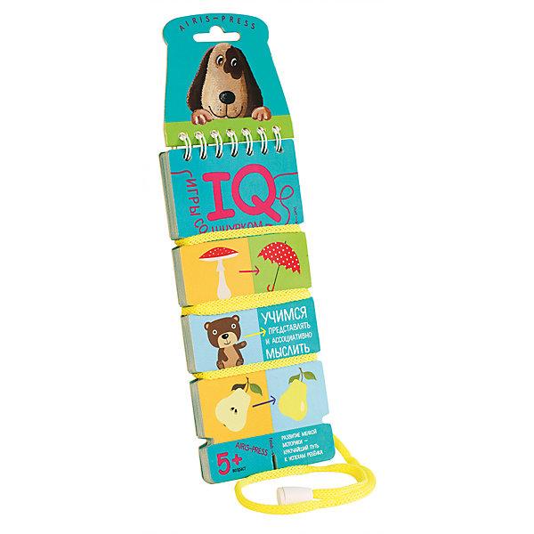 Игры со шнурком Учимся представлять и ассоциативно мыслить, Куликова Е.Н.Шнуровки<br>Характеристики товара:<br><br>• возраст: от 5 лет<br>• комплектация: блокнот на пружине со шнурком, состоящий из 18 картонных карточек<br>• автор: Куликова Е.Н.<br>• производитель: Айрис-пресс<br>• серия: IQ игры со шнурком<br>• иллюстрации: цветные<br>• размер блокнота: 7х15,5 см.<br>• вес: 66 гр.<br><br>«Учимся представлять и ассоциативно мыслить» - это развивающее игровое пособие, с помощью которого ребенок научится ассоциативно мыслить, находя картинки, похожие по форме, цвету, контуру или силуэту. Интересная форма выполнения заданий и самопроверки увлекает детей и приучает к самостоятельным занятиям.<br><br>В блокноте 18 игровых карточек, переплёт с пружиной и прочный шнурок, надёжно прикреплённый металлической заклёпкой. На каждой карточке картинки-задания. Для каждой картинки необходимо подобрать пару. Схема, по которой нужно подбирать пару, нарисована.<br><br>Для проверки правильности выполнения заданий используется шнурок. Пары последовательно соединяются шнурком. В результате шнурок определенным образом переплетает карточку. Если шнурок будет идти по линиям, нарисованным с обратной стороны карточки, значит задание выполнено, верно.<br><br>Игры со шнурком развивают внимание, усидчивость, самодисциплину, мышление, мелкую моторику и координацию движений. Интуитивно понятные задания помогают ребёнку почувствовать уверенность в своих силах и учиться с удовольствием.<br><br>Игры со шнурком - это простое и удобное пособие для занятий в детском саду, дома и на отдыхе.<br><br>Игры со шнурком Учимся представлять и ассоциативно мыслить, Куликова Е.Н. можно купить в нашем интернет-магазине.<br><br>Ширина мм: 36<br>Глубина мм: 70<br>Высота мм: 160<br>Вес г: 62<br>Возраст от месяцев: 60<br>Возраст до месяцев: 84<br>Пол: Унисекс<br>Возраст: Детский<br>SKU: 6849571