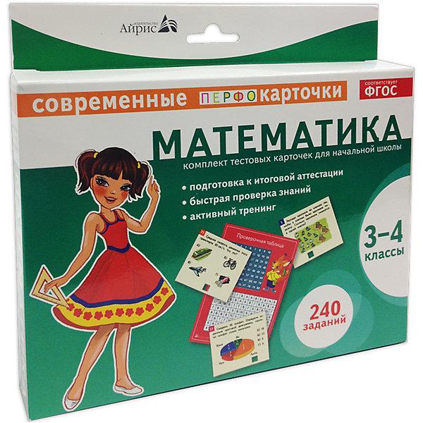 Пособие Математика, 3-4 кл., Куликова Е.Н.Пособия для обучения счёту<br>Характеристики товара:<br><br>• возраст: от 8 лет<br>• комплектация: карточки с заданиями; проверочная таблица, памятка для родителей.<br>• автор: Куликова Е.Н.<br>• производитель: Айрис-пресс<br>• серия: Комплекты тестовых карточек<br>• иллюстрации: цветные<br>• материал: картон<br>• упаковка: картонная коробка<br>• размер упаковки: 18,5х20х3 см.<br>• вес: 322 гр.<br><br>Комплект тестовых карточек – это развивающее пособие, рекомендованное для проверки и закрепления учебного материала 3-4 классов по математике.<br><br>В комплект входят: карточки с заданиями (240 заданий), проверочная таблица и памятка для родителей. Задания сгруппированы по ключевым разделам математики: числа (50 заданий); величины (30 заданий); арифметические действия (80 заданий); пространственные отношения, геометрические фигуры, геометрические величины (48 заданий); работа с информацией (32 задания).<br><br>Пособие очень удобно в использовании. Краткая инструкция расположена непосредственно на коробке. Важно, что ребёнок, соединив номер на карточке с номером в проверочной таблице, сам может проверить - верный ли ответ.<br><br>Занятия с карточками способствуют развитию наглядно-образного мышления, внимательности, наблюдательности, учат анализировать и логически объяснять решение.<br><br>Оптимальная подача учебного материала, оригинальный дизайн, яркие иллюстрации и краткие задания сделают подготовку итоговому тестированию с данным пособием лёгкой и интересной.<br><br>Пособие Математика, 3-4 кл., Куликова Е.Н. можно купить в нашем интернет-магазине.<br><br>Ширина мм: 28<br>Глубина мм: 200<br>Высота мм: 185<br>Вес г: 345<br>Возраст от месяцев: 96<br>Возраст до месяцев: 144<br>Пол: Унисекс<br>Возраст: Детский<br>SKU: 6849631