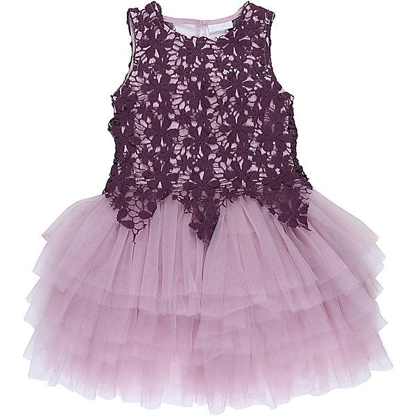 Платье для девочки Sweet BerryОдежда<br>Характеристики товара:<br><br>• цвет: розовый<br>• сезон: круглый год<br>• состав: верх: 100% полиэстер, подкладка: 100% хлопок<br>• стиль: праздник<br>• короткий рукав<br>• особенности: нарядное, пышное<br>• страна бренда: Россия<br>• страна производитель: Китай<br><br>Платье текстильное для девочки, комфортно и приятно прилегает к телу. <br><br>Верх обшит кружевным полотном, спускающимся на юбку красивыми треугольниками. <br><br>Юбка - пышная, многоярусная, создающая нарядный вид. <br><br>Оригинальный лиловый цвет платья делает наряд стильным и модным.<br><br>Платье для девочки Sweet Berry можно купить в нашем интернет-магазине.<br>Ширина мм: 236; Глубина мм: 16; Высота мм: 184; Вес г: 177; Цвет: лиловый; Возраст от месяцев: 84; Возраст до месяцев: 96; Пол: Женский; Возраст: Детский; Размер: 128,104,110,116,140,98; SKU: 6849854;
