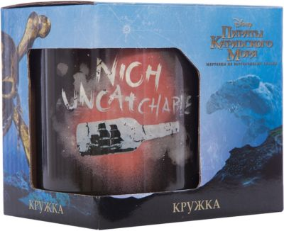 Кружка Пираты Карибского Моря. Бунтарь в подарочной упаковке, 500 мл., Disney