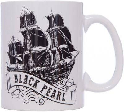 Кружка Пираты Карибского Моря. Черная Жемчужина , 500 мл., Disney