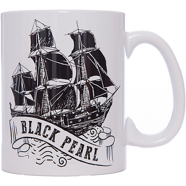 Кружка Пираты Карибского Моря. Черная Жемчужина, 500 мл., DisneyДетская посуда<br>Характеристики:<br><br>• Материал: керамика<br>• Тематика рисунка: Пираты Карибского моря<br>• Можно использовать для горячих и холодных напитков<br>• Объем: 500 мл<br>• Вес: 498 г <br>• Размеры (Д*Ш*В): 12*8,2*9,5 см<br>• Особенности ухода: можно мыть в посудомоечной машине<br><br>Кружка Пираты Карибского моря. Черная Жемчужина, 500 мл., Disney выполнена в стильном дизайне: на белый корпус нанесено изображение корабля Черная Жемчужина. Изображение устойчиво к появлению царапин, не выцветает при частом мытье. <br><br>Кружку Кружка Пираты Карибского моря. Черная Жемчужина, 500 мл., Disney можно купить в нашем интернет-магазине.<br>Ширина мм: 120; Глубина мм: 82; Высота мм: 95; Вес г: 498; Возраст от месяцев: 36; Возраст до месяцев: 1188; Пол: Унисекс; Возраст: Детский; SKU: 6849953;