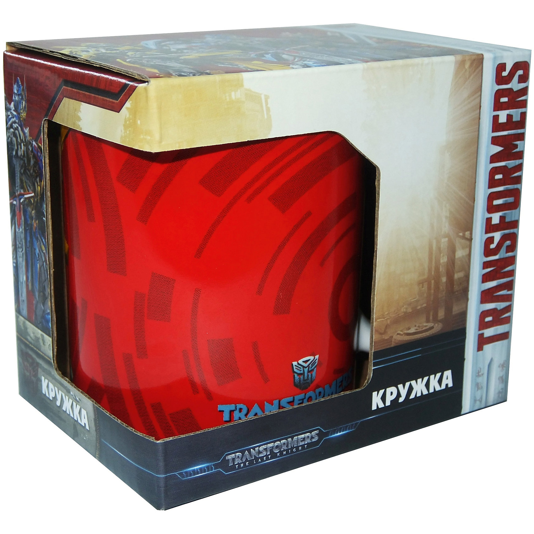 Кружка Transformers Последний рыцарь. Бамблби в подарочной упаковке, 350 мл.Посуда<br>Характеристики:<br><br>• Материал: керамика<br>• Тематика рисунка: Трансформеры<br>• Можно использовать для горячих и холодных напитков<br>• Упаковка: подарочная картонная коробка<br>• Объем: 350 мл<br>• Вес: 360 г<br>• Размеры (Д*Ш*В): 12*8,2*9,5 см<br>• Особенности ухода: можно мыть в посудомоечной машине<br><br>Кружка Transformers Последний рыцарь. Бамблби в подарочной упаковке, 350 мл. выполнена в стильном дизайне: на красный корпус нанесено изображение героя популярного мультсериала Трансформеры – Бамблби. Изображение детально отражает облик экранного прототипа, устойчиво к появлению царапин, не выцветает при частом мытье. <br><br>Кружку Transformers Последний рыцарь. Бамблби в подарочной упаковке, 350 мл. можно купить в нашем интернет-магазине.<br><br>Ширина мм: 120<br>Глубина мм: 82<br>Высота мм: 95<br>Вес г: 360<br>Возраст от месяцев: 36<br>Возраст до месяцев: 1188<br>Пол: Мужской<br>Возраст: Детский<br>SKU: 6849964