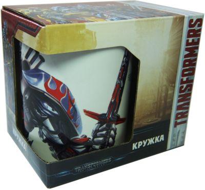 МФК-профит Кружка Transformers Роботы под прикрытием в подарочной упаковке, 350 мл.